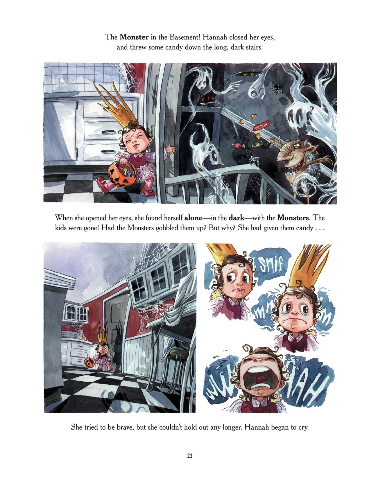 Read online Scary Godmother comic -  Issue # TPB - 23