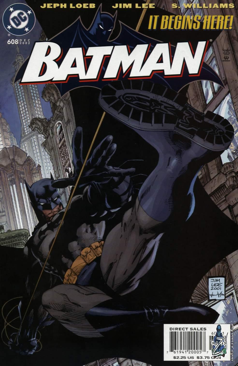 Batman: Hush 1 Page 1