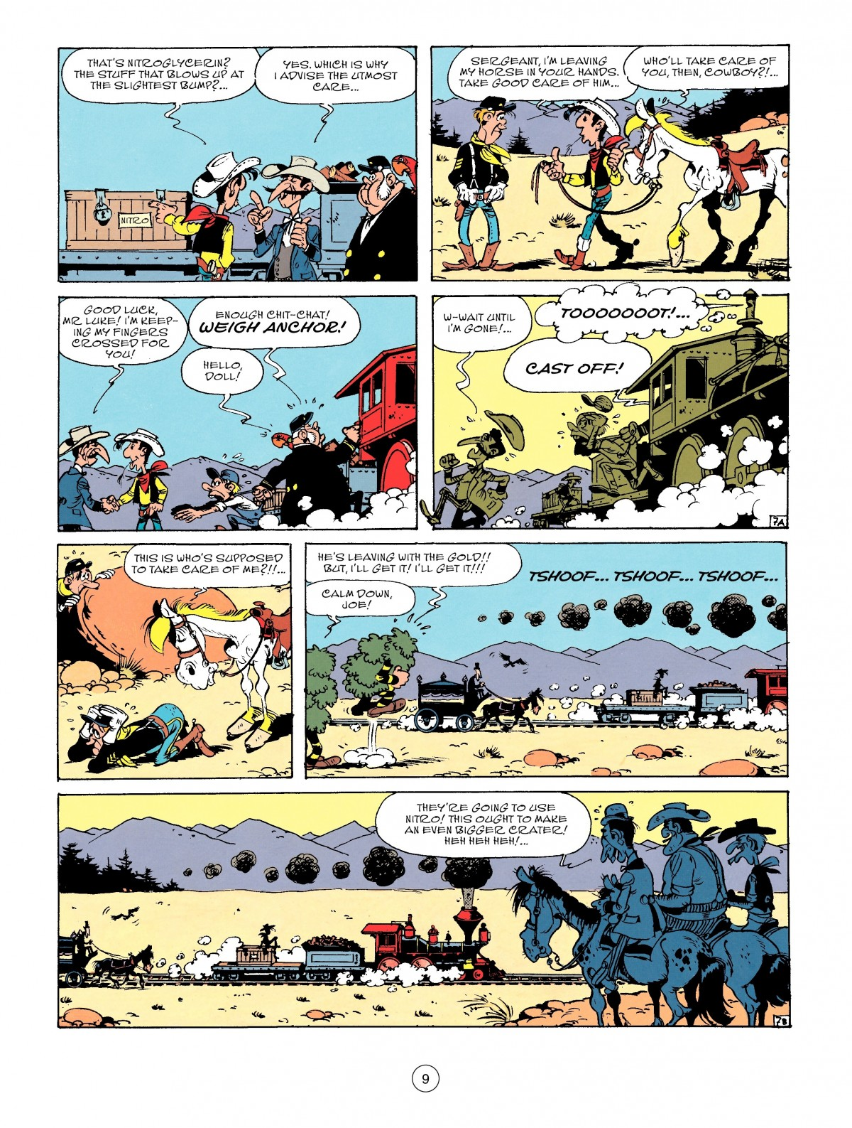 Read online A Lucky Luke Adventure comic -  Issue #53 - 9
