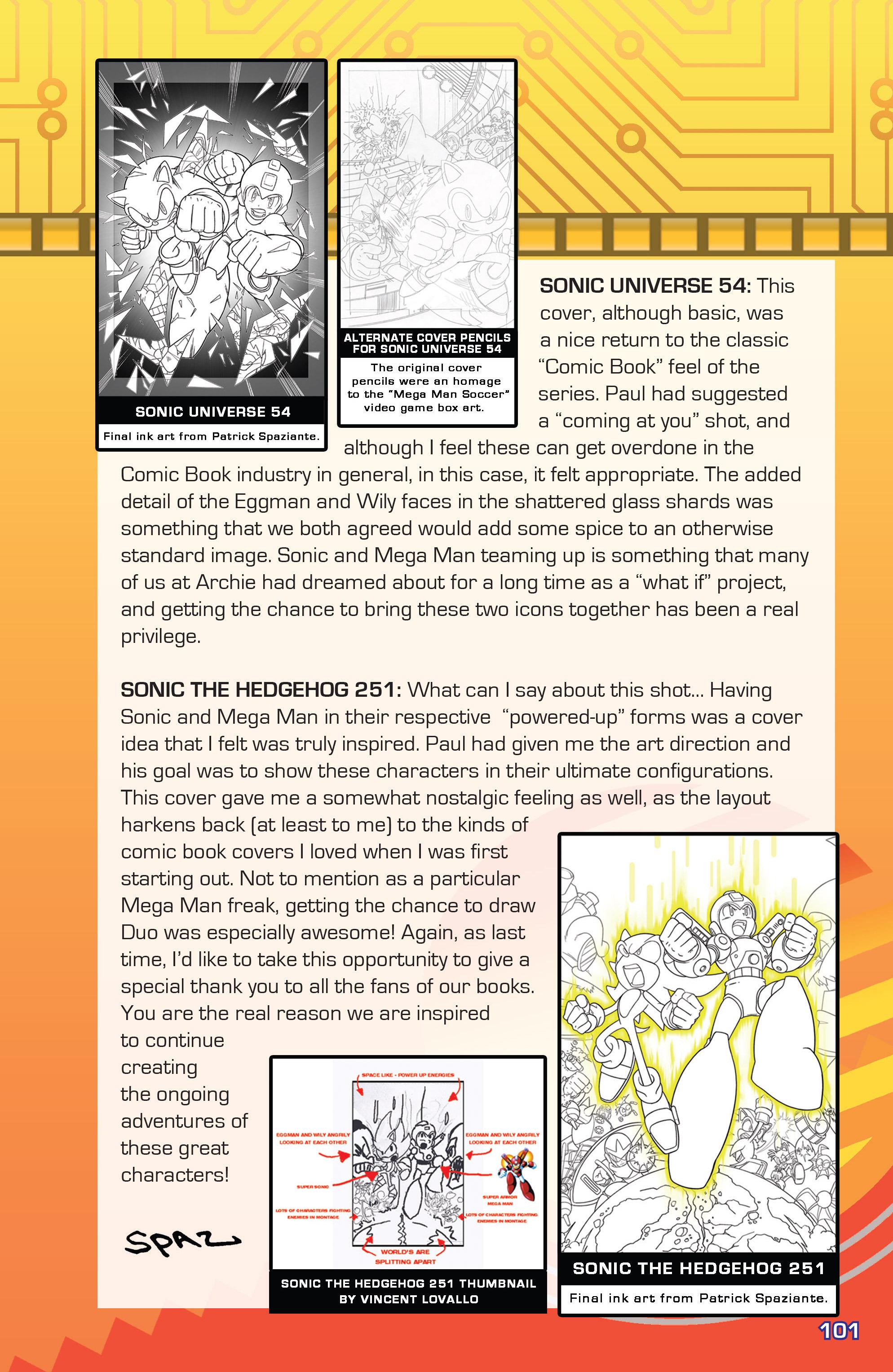 Read online Sonic Mega Man Worlds Collide comic -  Issue # Vol 3 - 120