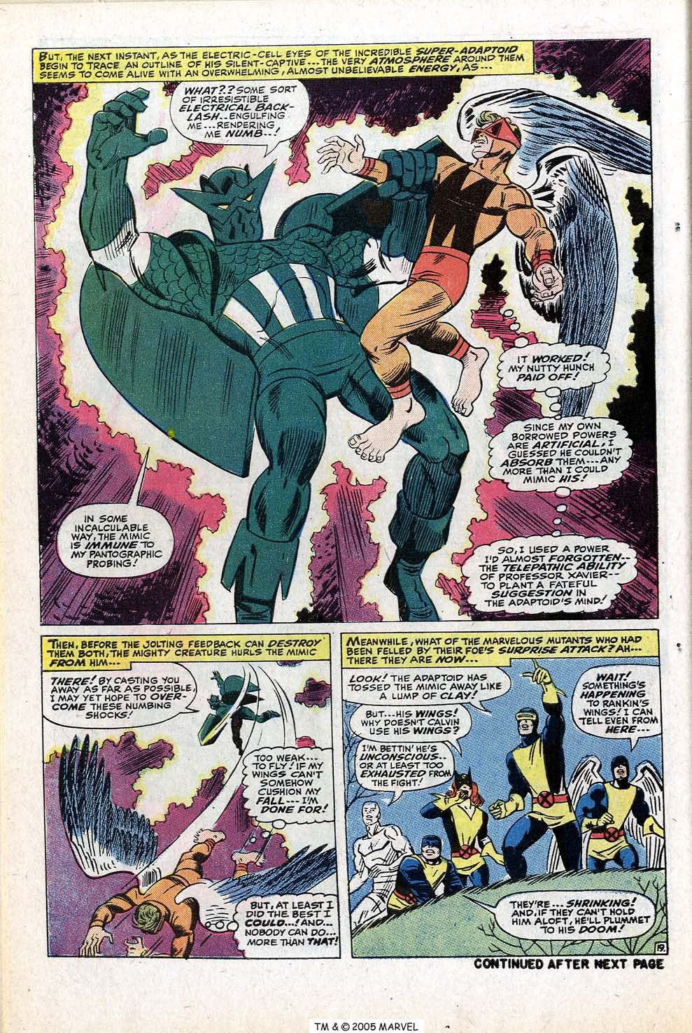 Read online Uncanny X-Men (1963) comic -  Issue #77 - 30