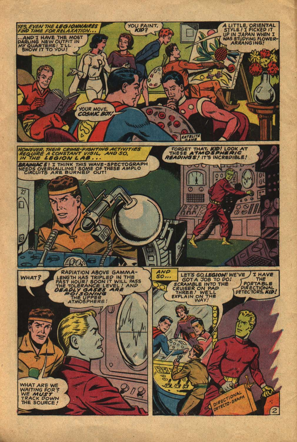 Read online Adventure Comics (1938) comic -  Issue #362 - 4