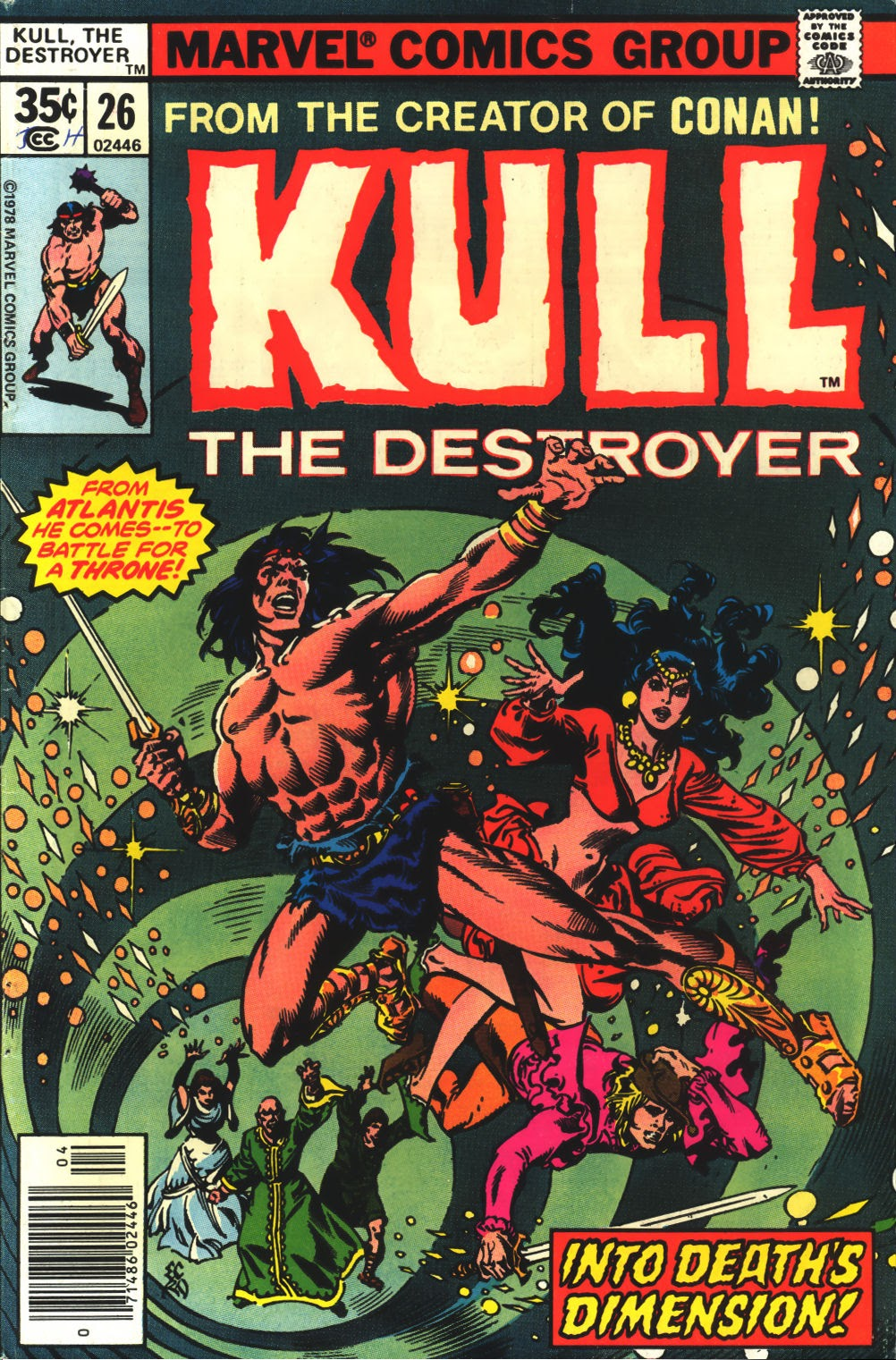 Kull The Destroyer issue 26 - Page 1