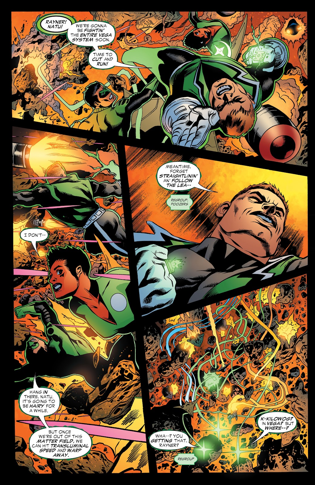 Read online Green Lantern by Geoff Johns comic -  Issue # TPB 1 (Part 3) - 49