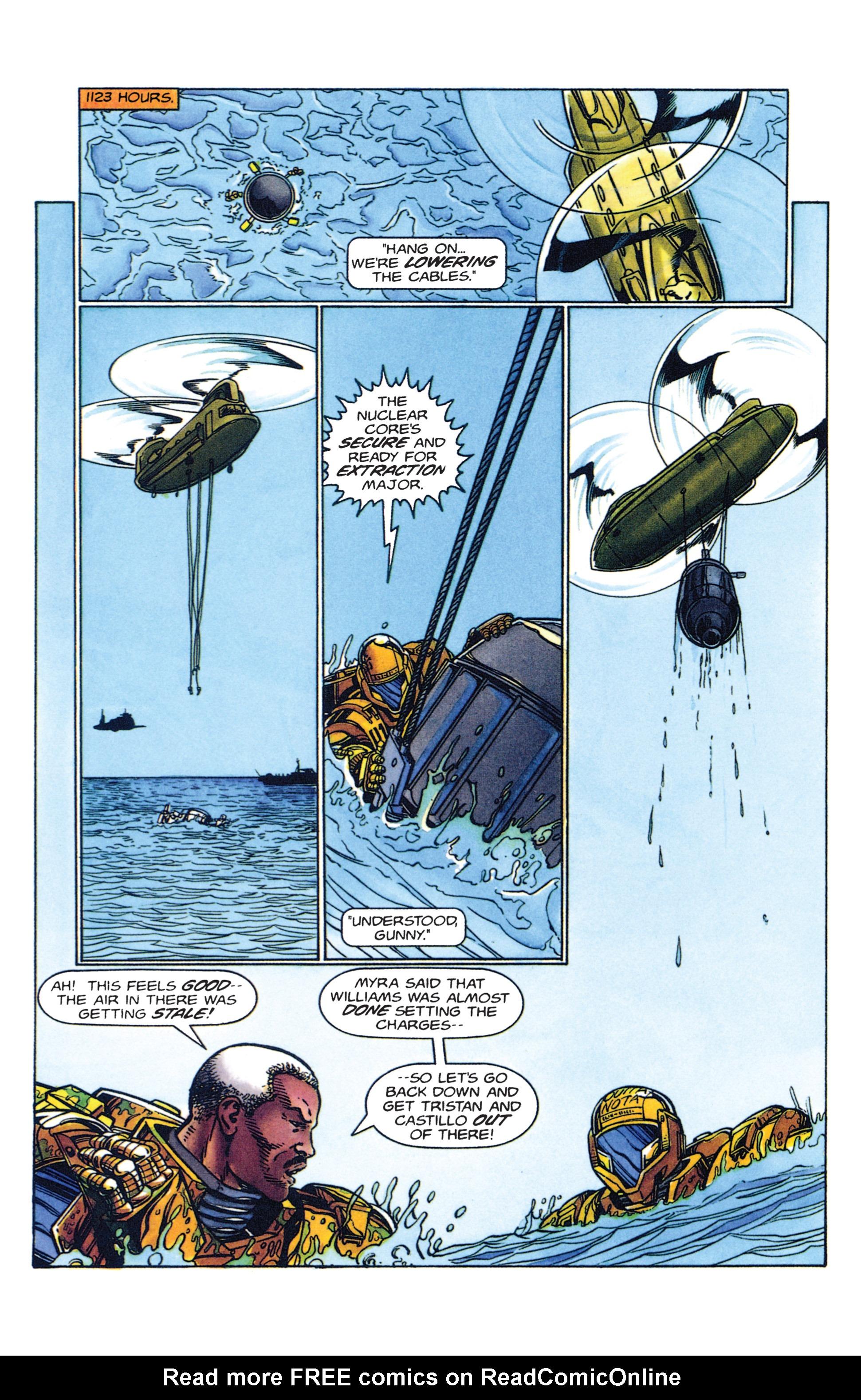 Read online Armorines comic -  Issue #2 - 14