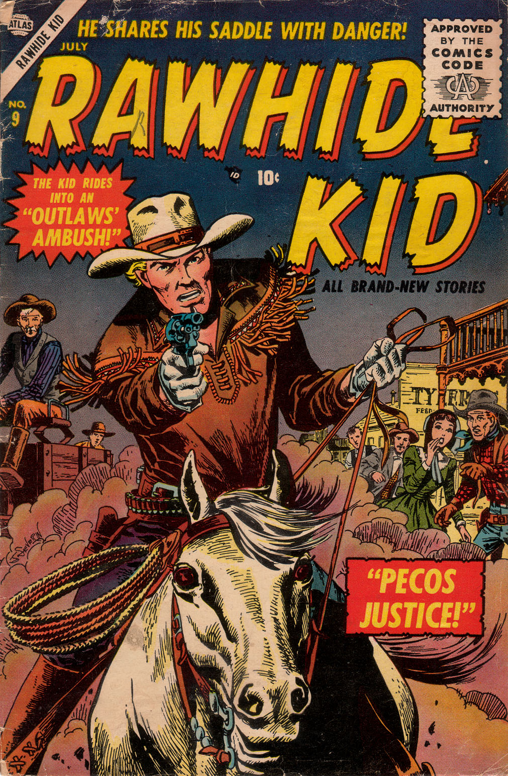 The Rawhide Kid (1955) issue 9 - Page 1