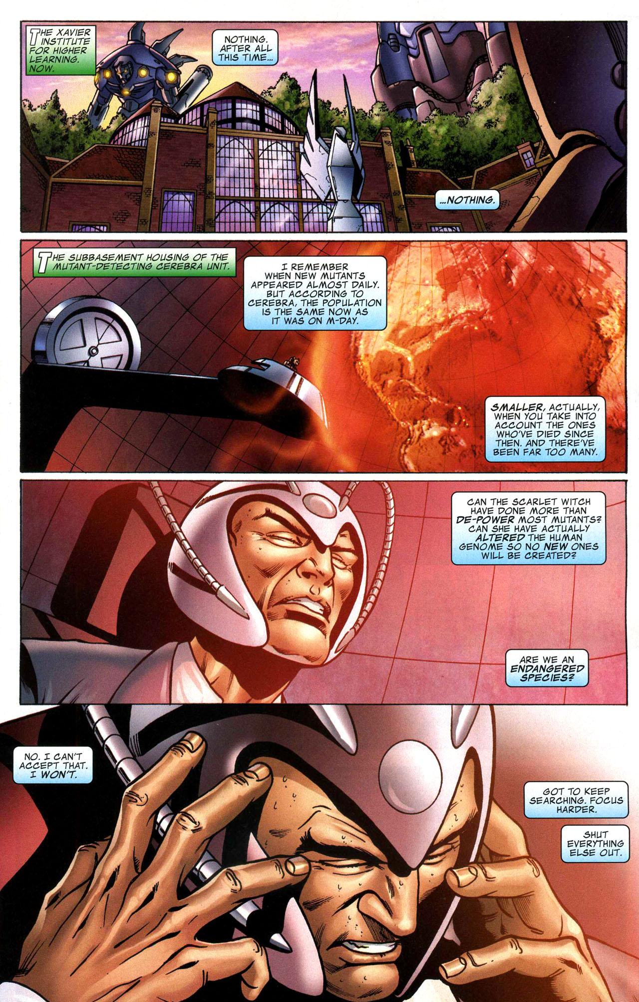 Read online World War Hulk: X-Men comic -  Issue #1 - 4