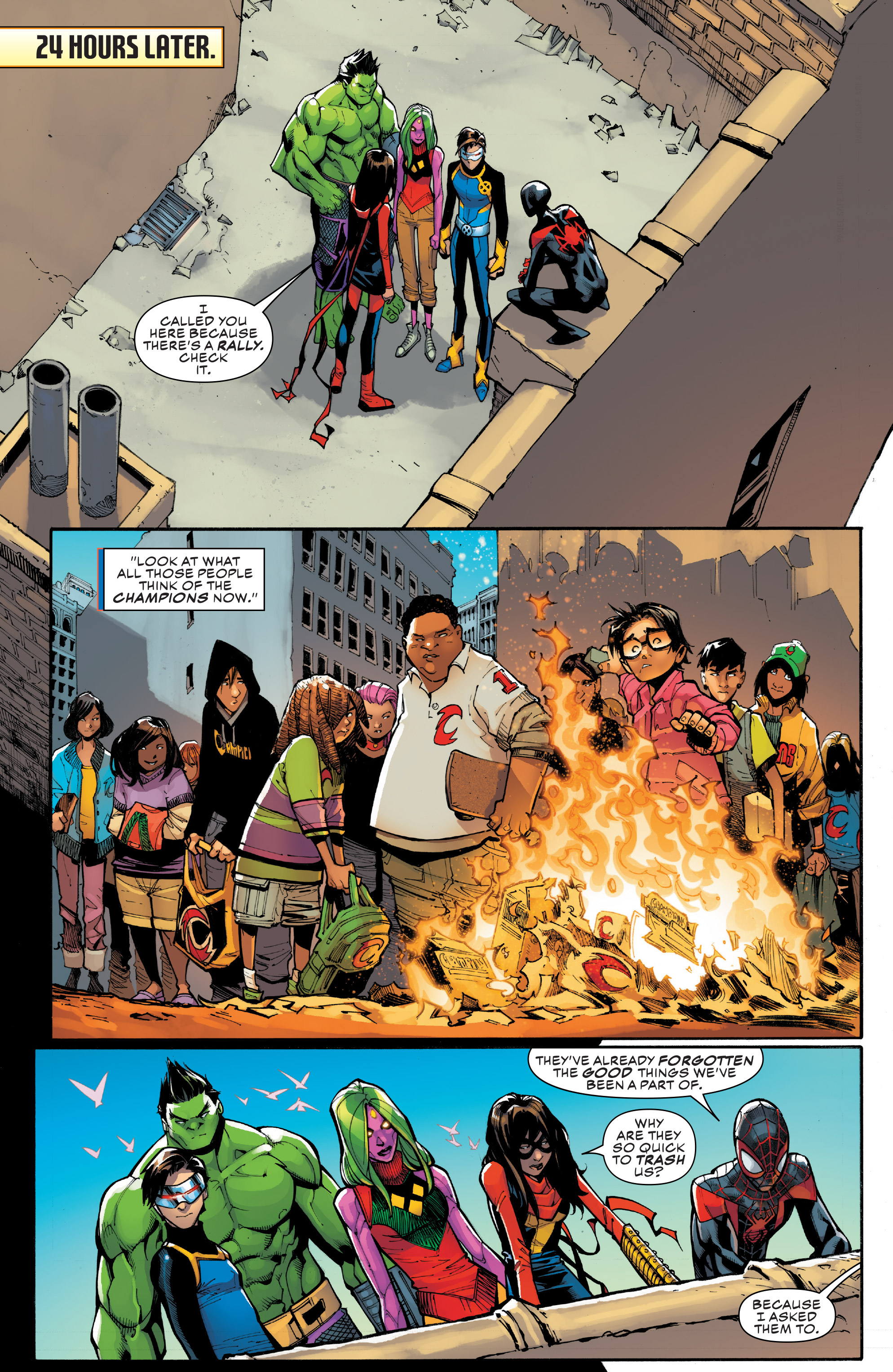 Read online Champions (2016) comic -  Issue #8 - 18