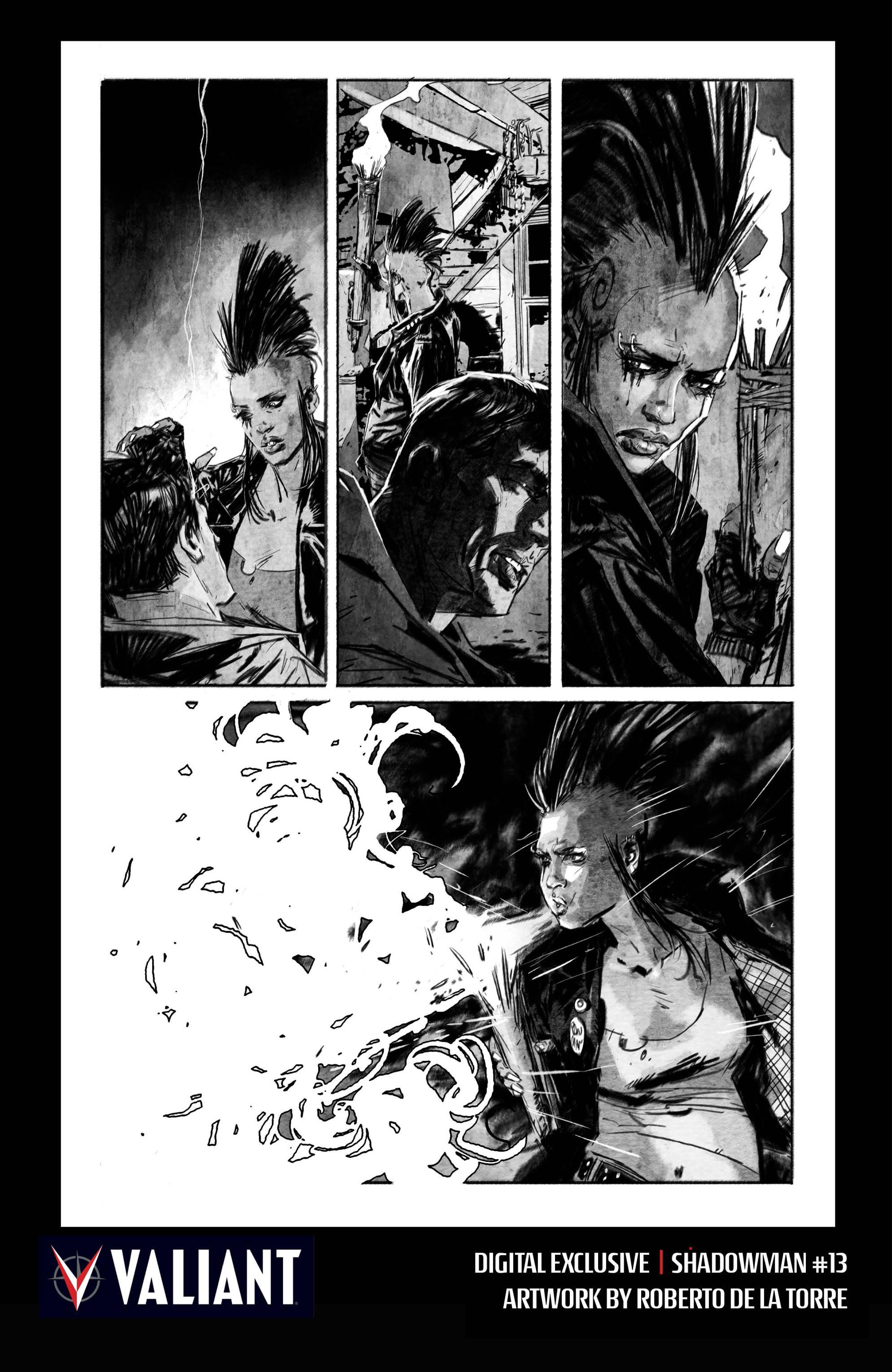 Read online Shadowman (2012) comic -  Issue #13 - 32