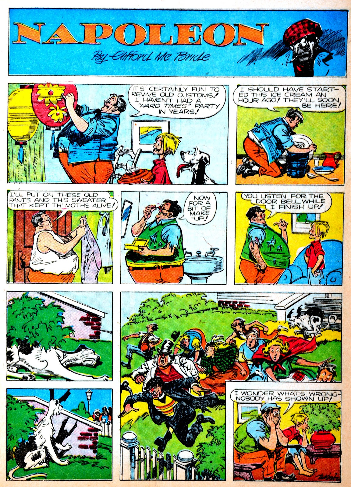 Read online Famous Funnies comic -  Issue #88 - 15
