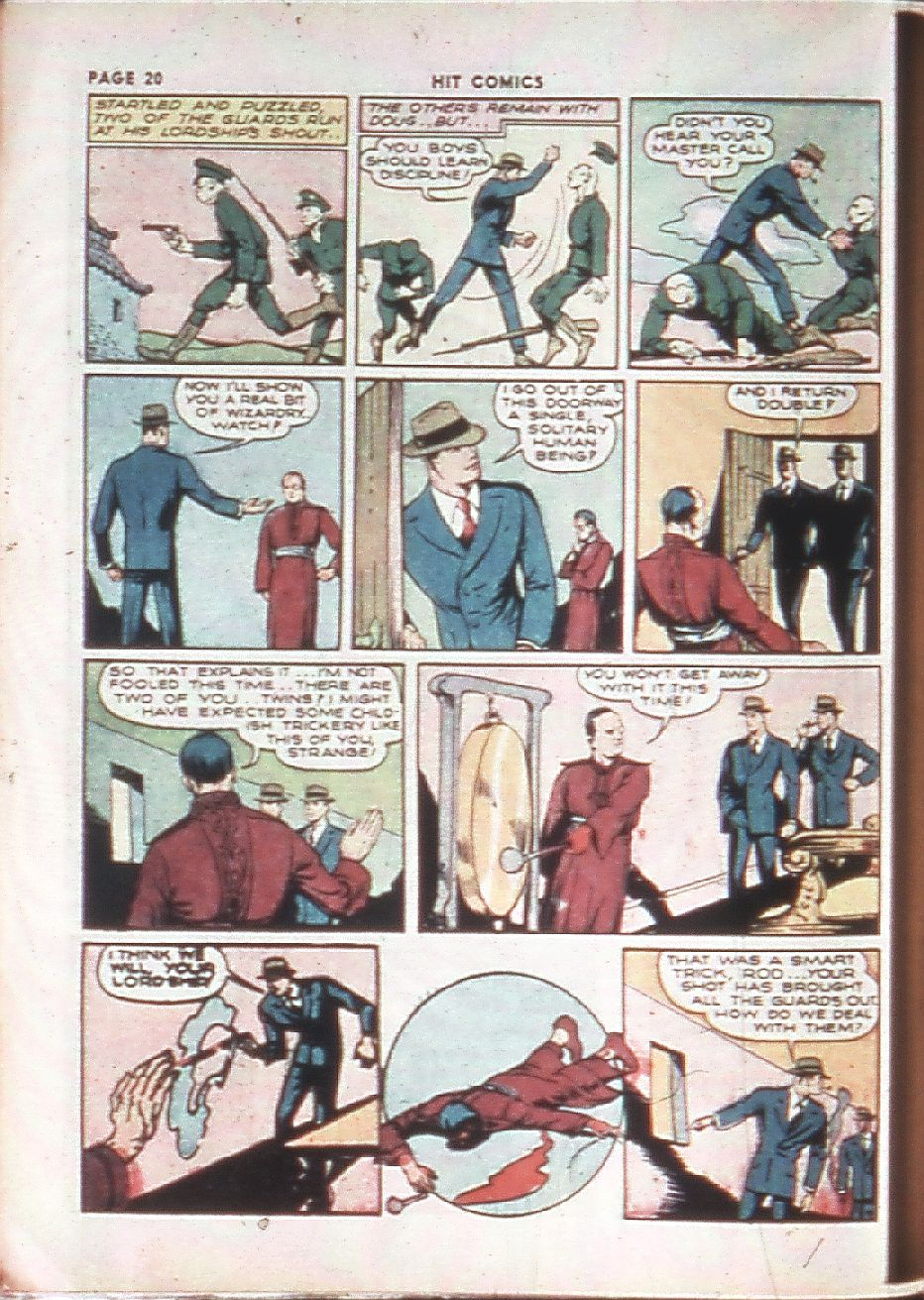 Read online Hit Comics comic -  Issue #10 - 22