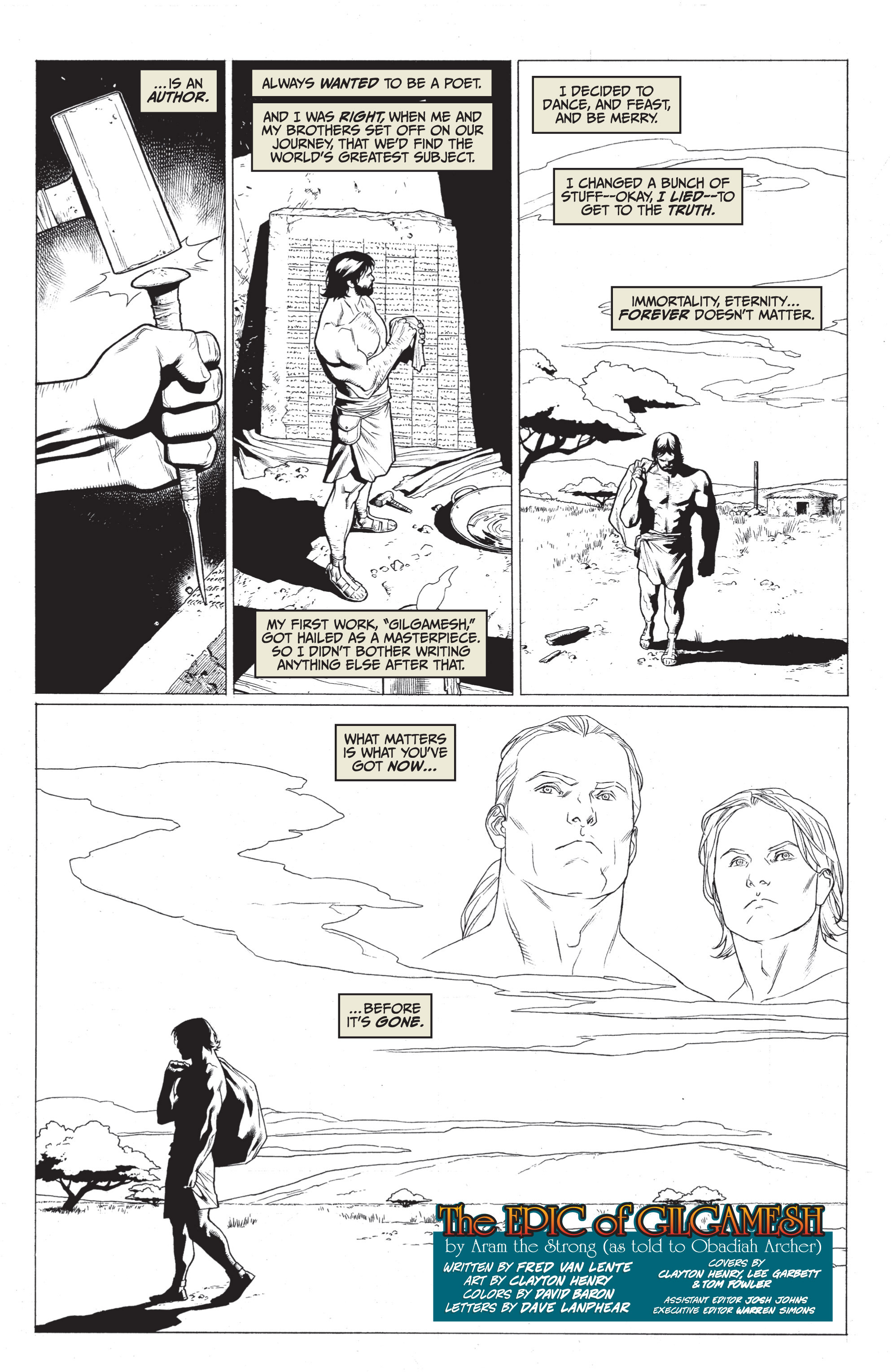 Read online Archer and Armstrong comic -  Issue #Archer and Armstrong _TPB 7 - 96