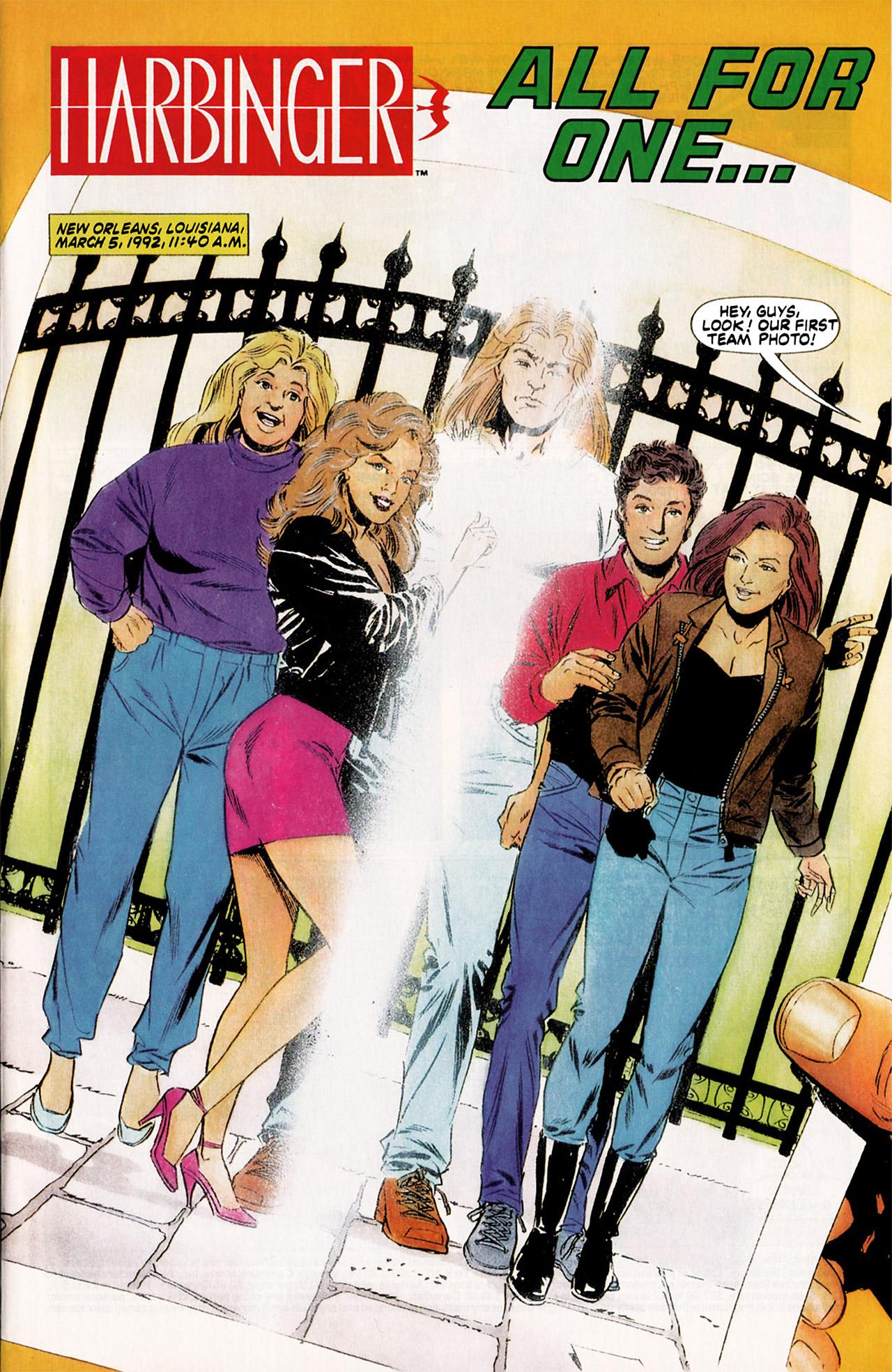 Read online Harbinger (1992) comic -  Issue #5 - 2