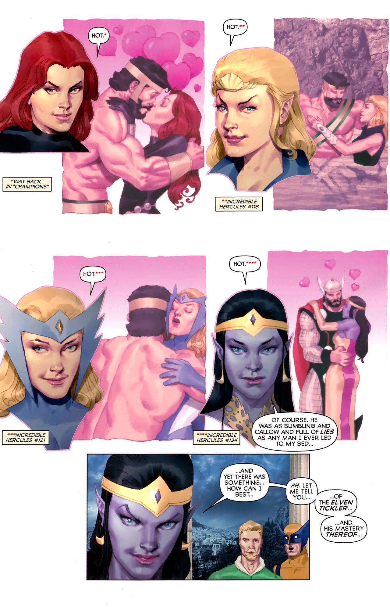 Read online Hercules: Fall of an Avenger comic -  Issue #1 - 17