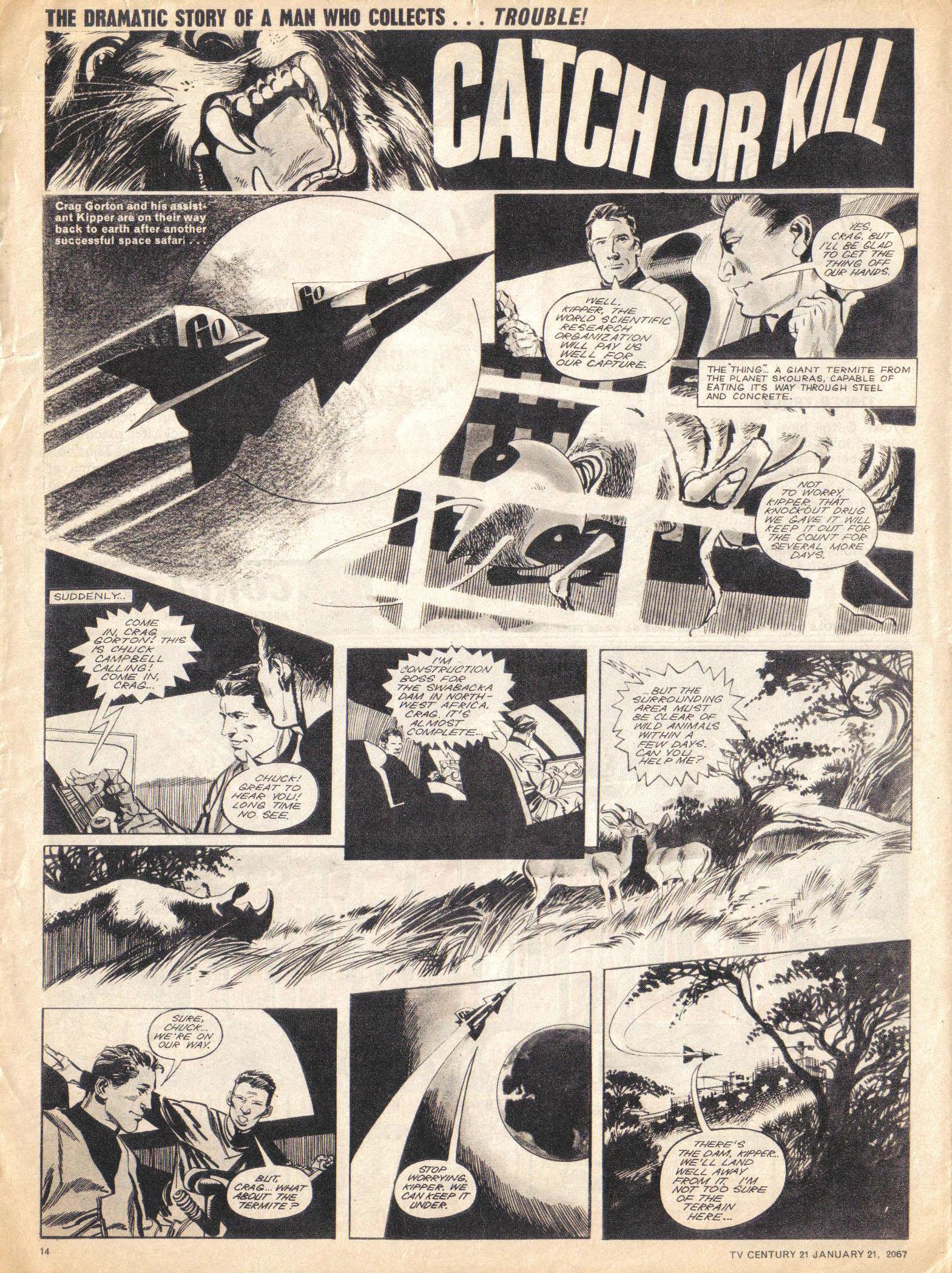 Read online TV Century 21 (TV 21) comic -  Issue #105 - 13