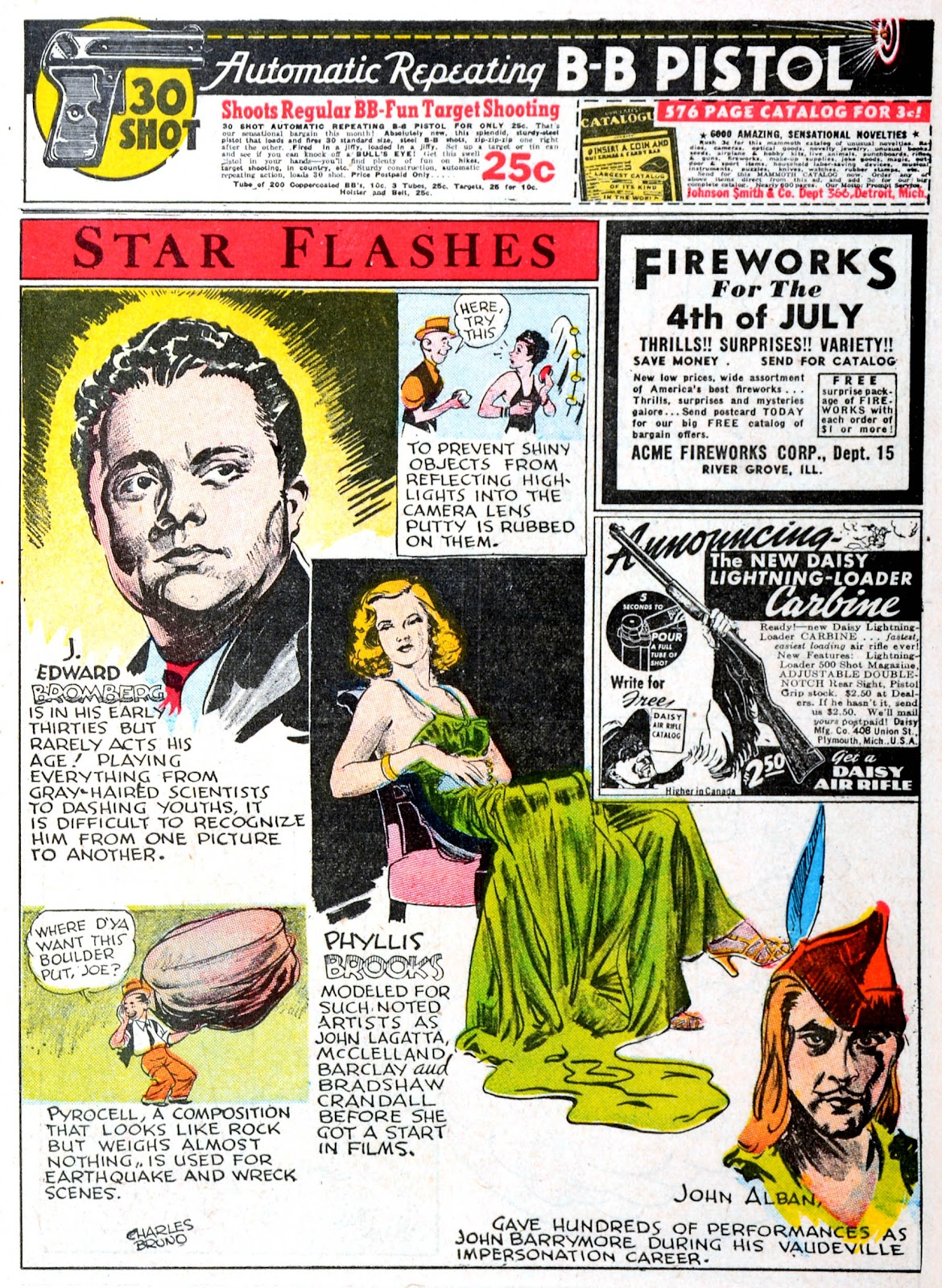 Read online Famous Funnies comic -  Issue #60 - 3