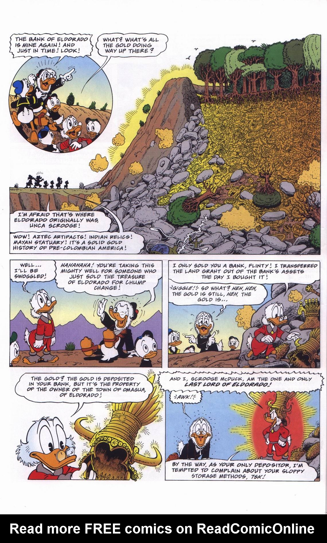 Read online Uncle Scrooge (1953) comic -  Issue #311 - 32