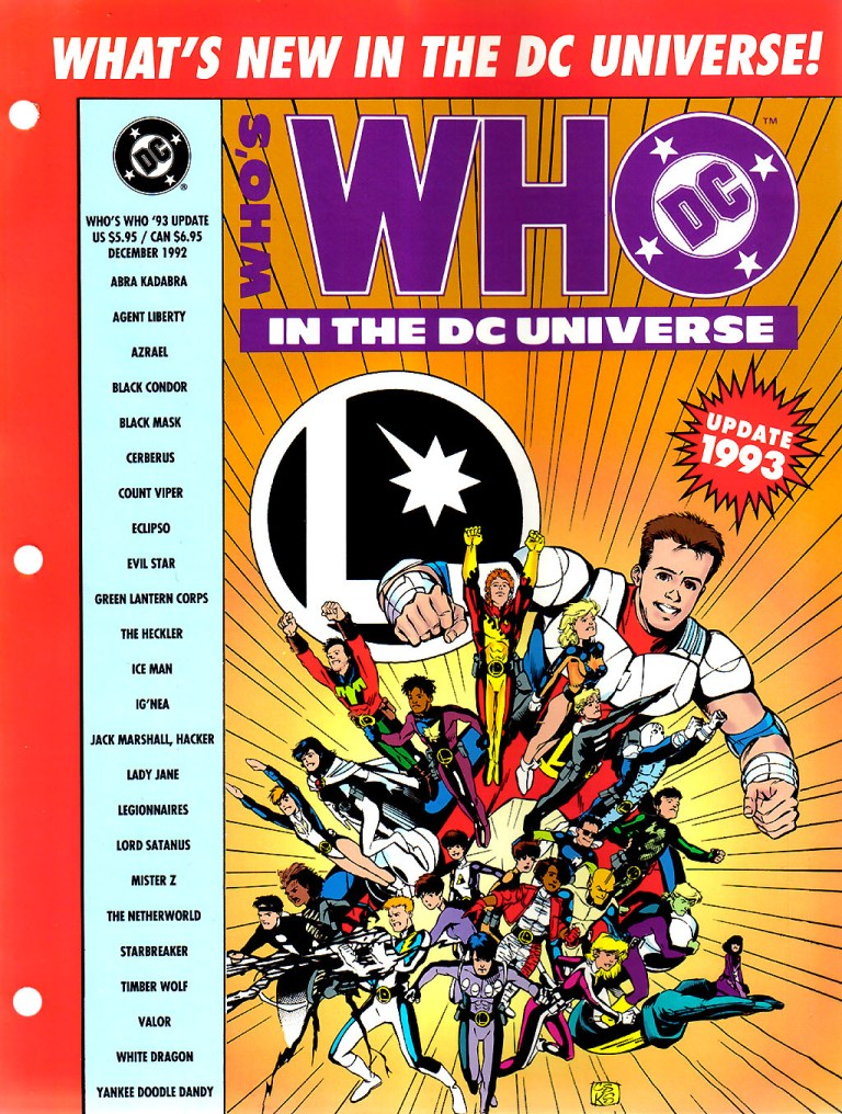 Whos Who In The DC Universe Update 1993 1 Page 1
