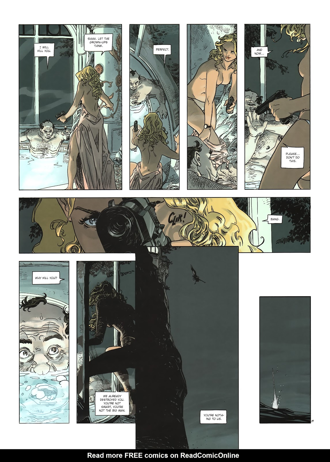 Read online Cutting Edge (2013) comic -  Issue #2 - 30