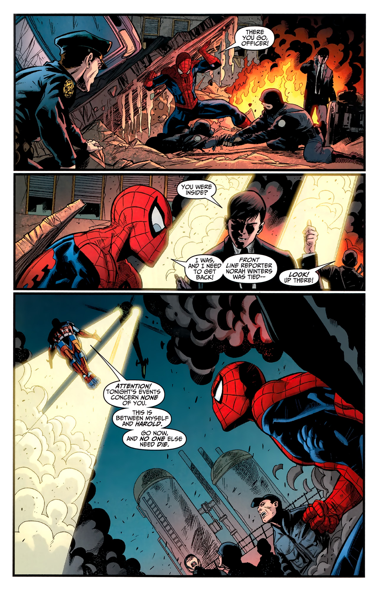 Read online Amazing Spider-Man Presents: American Son comic -  Issue #4 - 6
