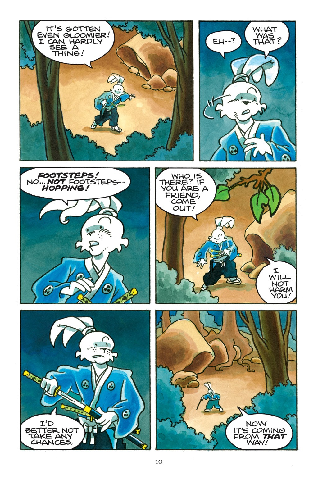 Read online Usagi Yojimbo: Yokai comic -  Issue # Full - 11