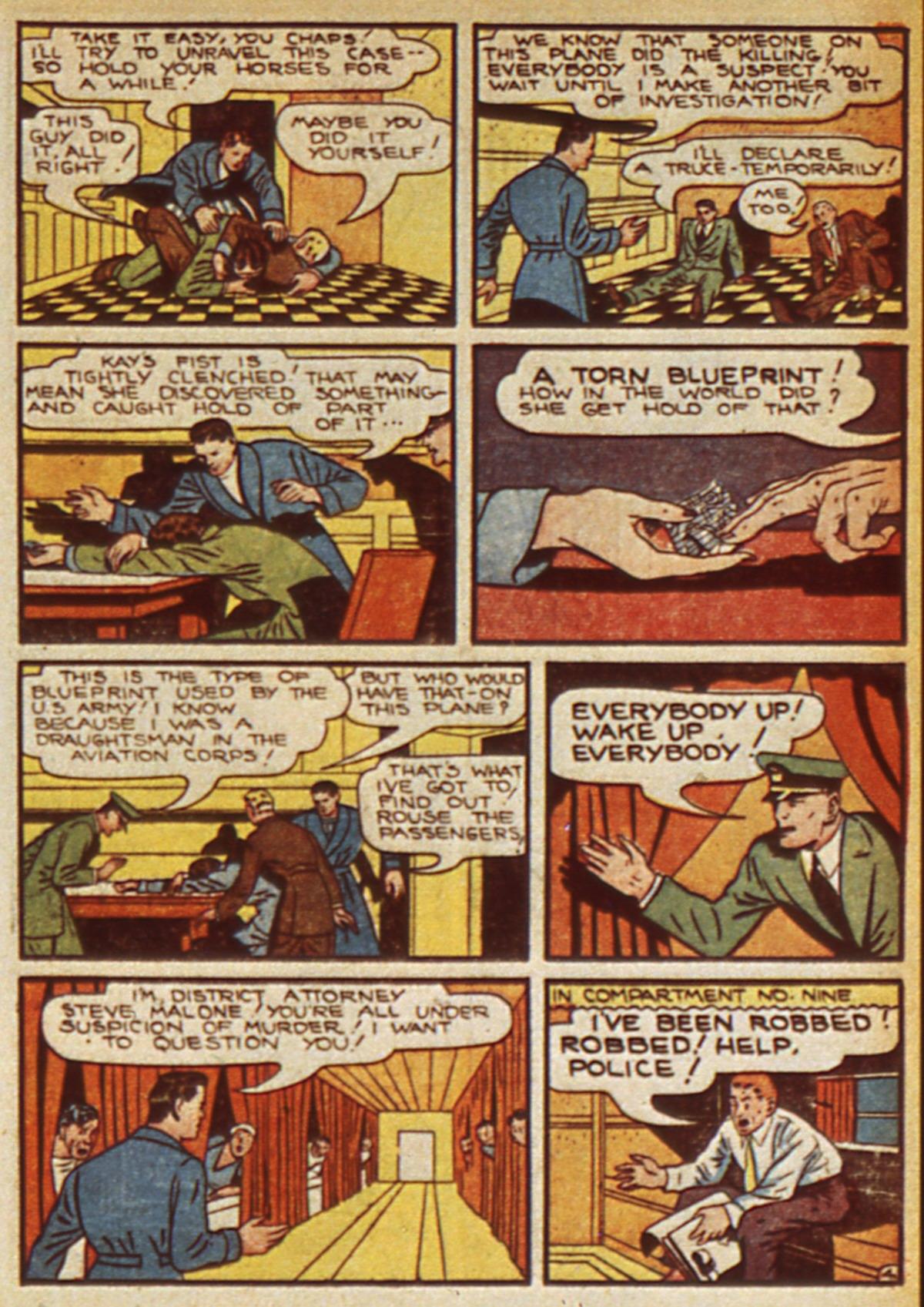 Read online Detective Comics (1937) comic -  Issue #45 - 47