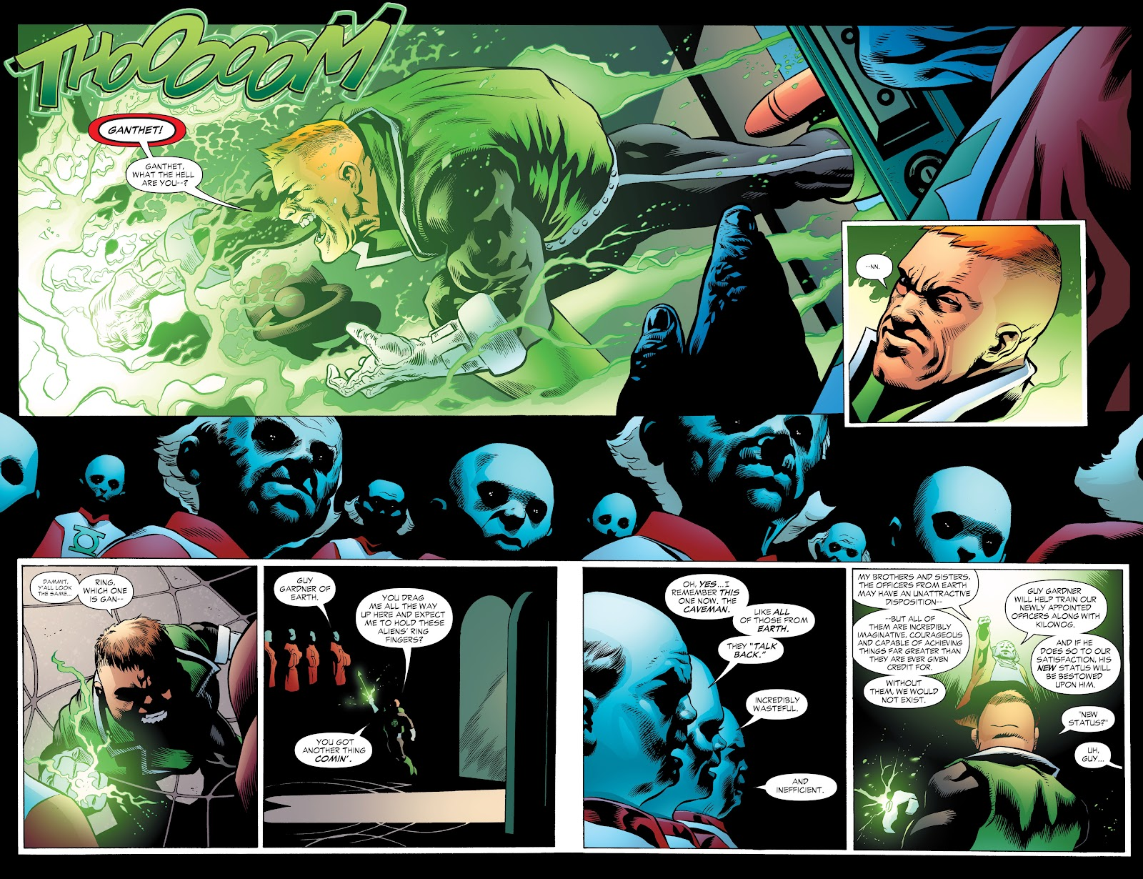 Read online Green Lantern by Geoff Johns comic -  Issue # TPB 1 (Part 2) - 98