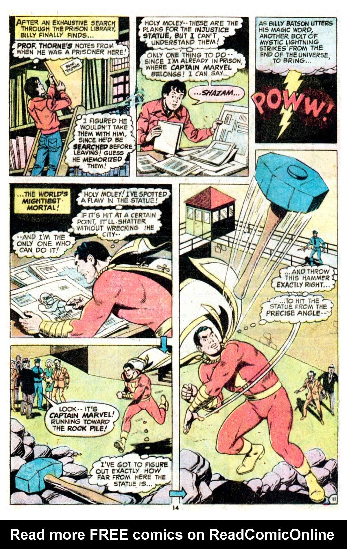 Read online Shazam! (1973) comic -  Issue #16 - 14