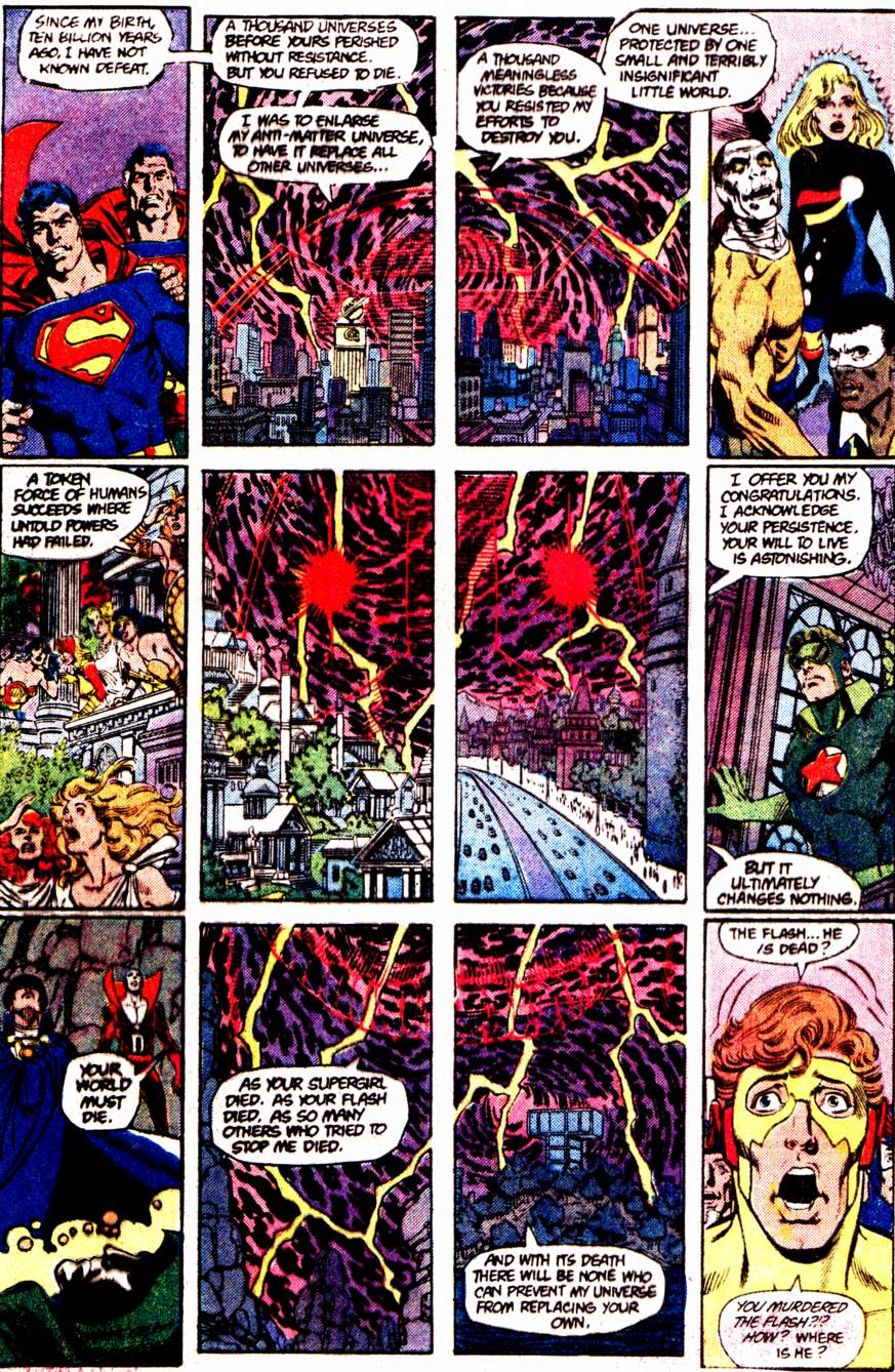 Crisis on Infinite Earths (1985) 12 Page 5