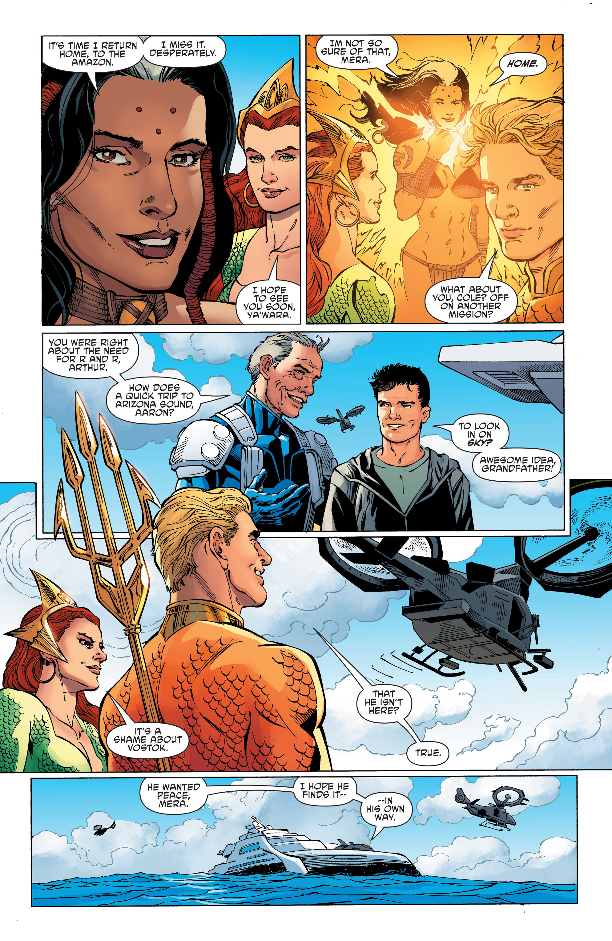 Read online Aquaman and the Others comic -  Issue #11 - 19