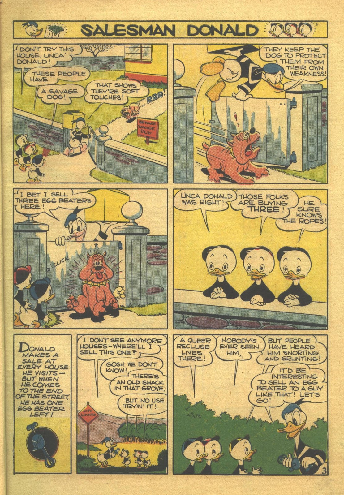 Walt Disney's Comics and Stories issue 39 - Page 5
