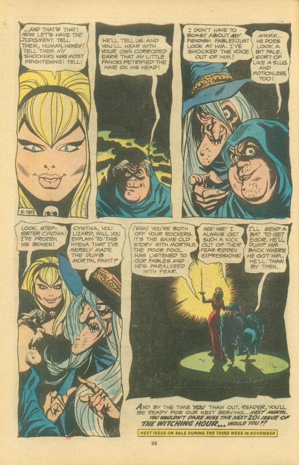The Witching Hour (1969) issue 38 - Page 98