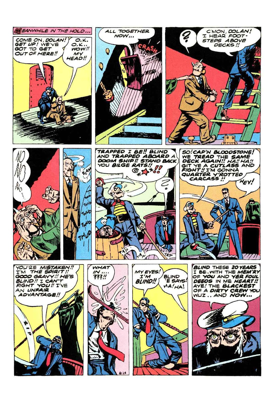 Read online Will Eisner's The Spirit Archives comic -  Issue # TPB 3 (Part 1) - 61