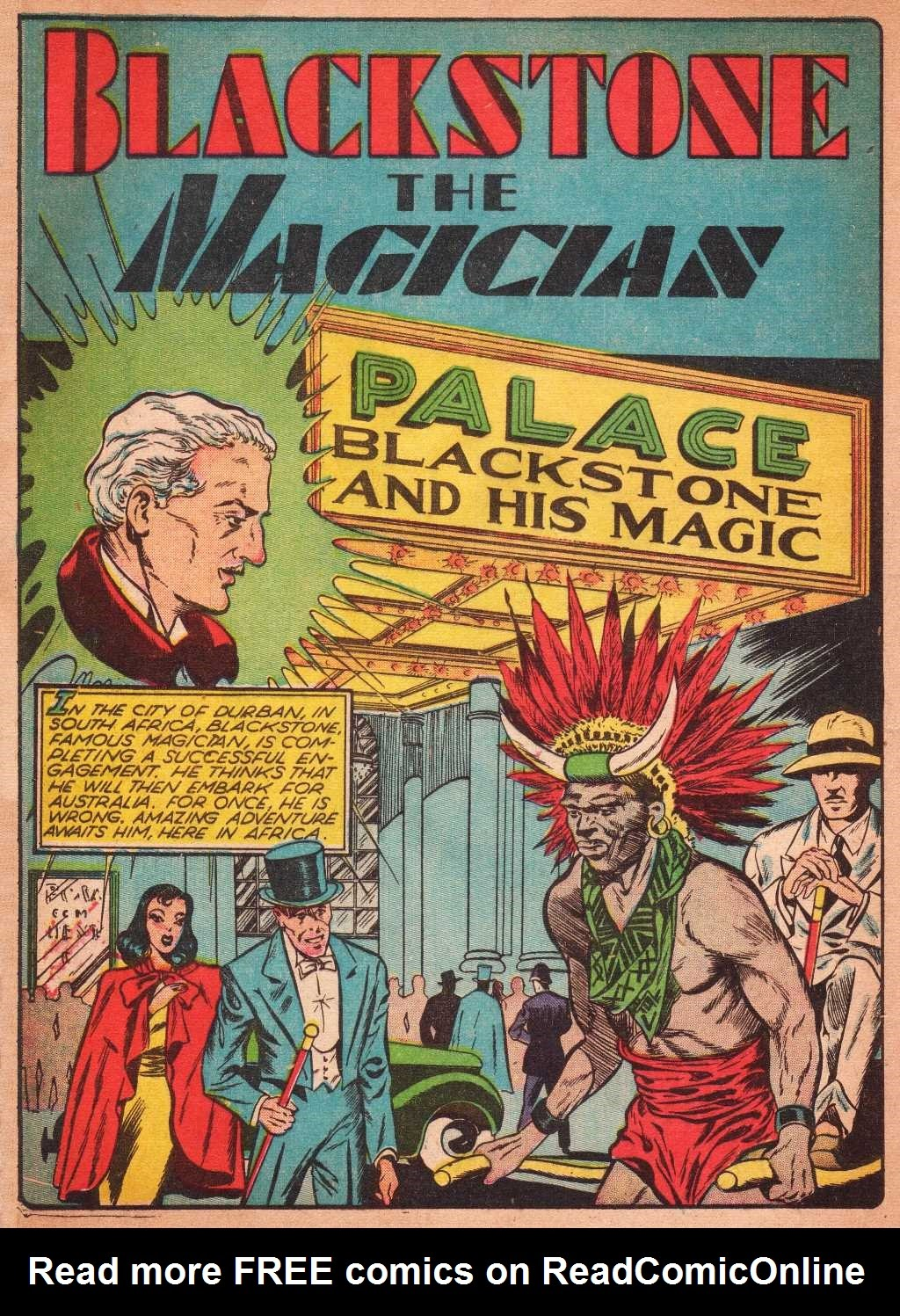 Read online Super-Magician Comics comic -  Issue #2 - 4