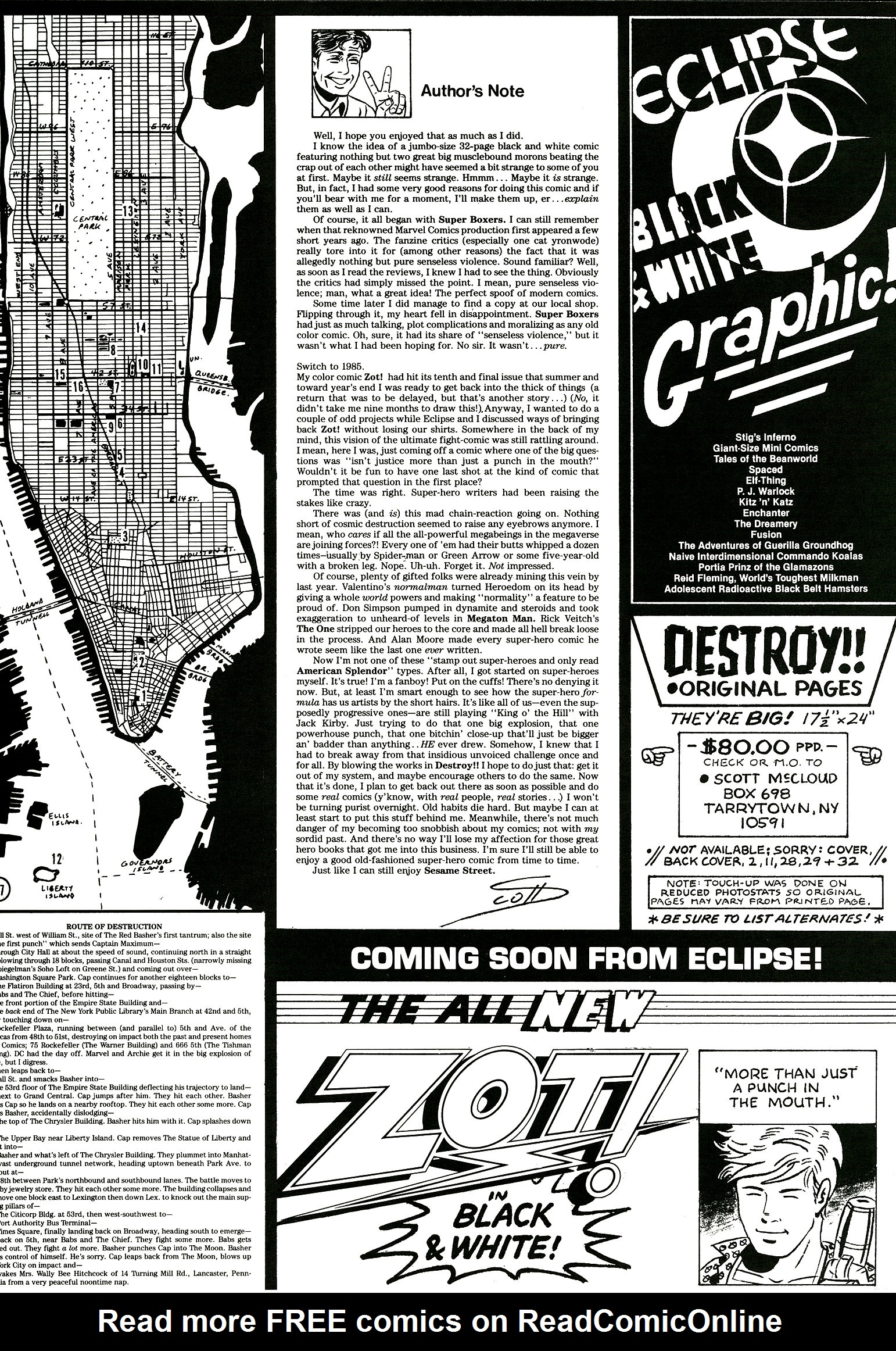 Read online Destroy!! comic -  Issue # Full - 36