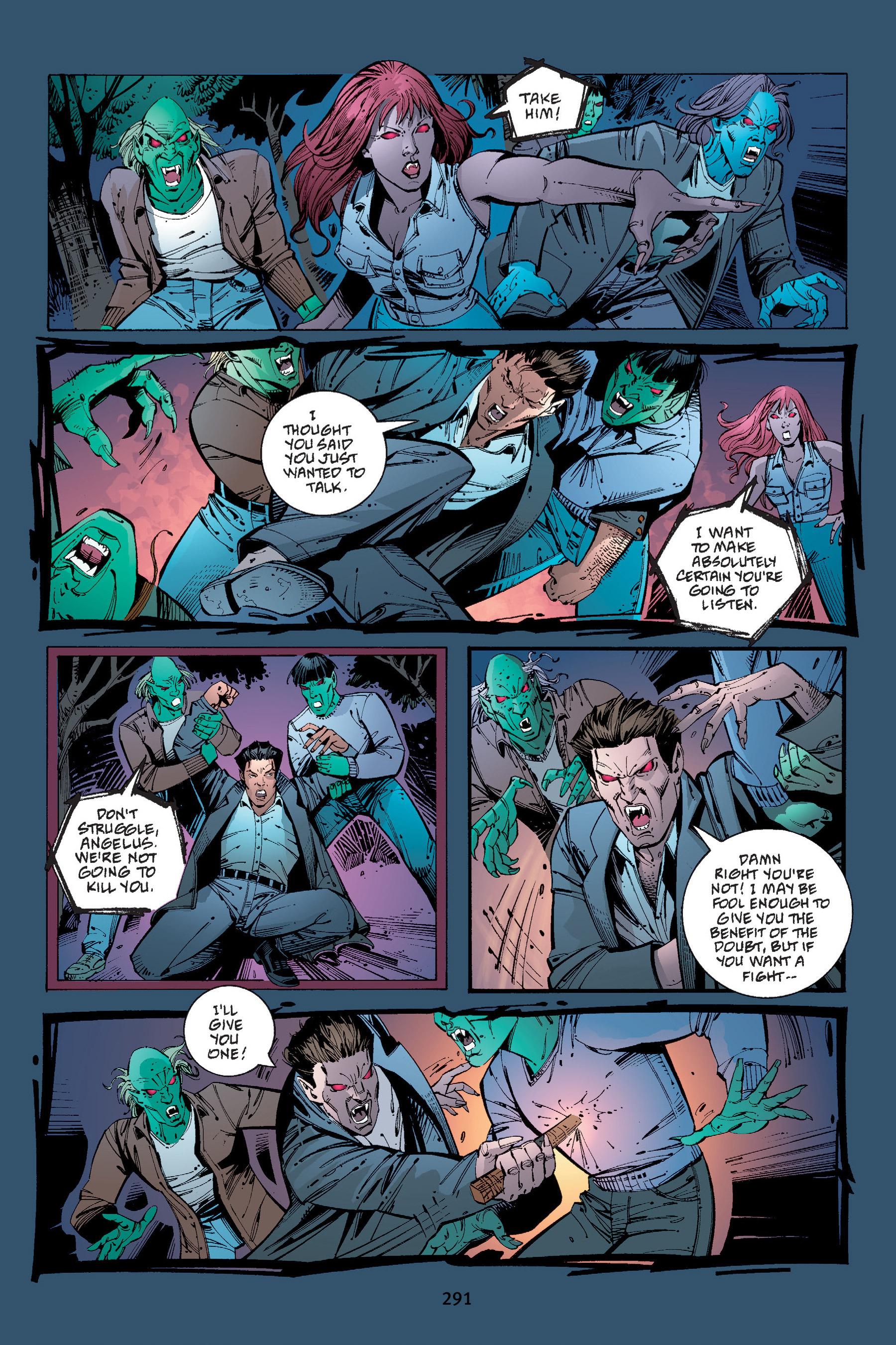 Read online Buffy the Vampire Slayer: Omnibus comic -  Issue # TPB 4 - 288