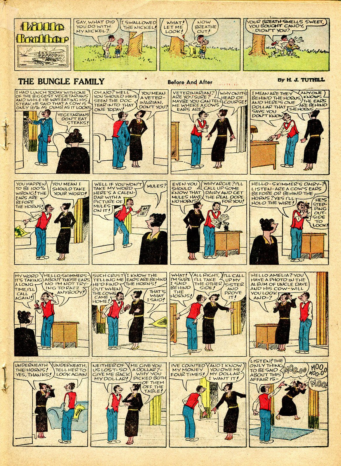 Read online Famous Funnies comic -  Issue #37 - 36