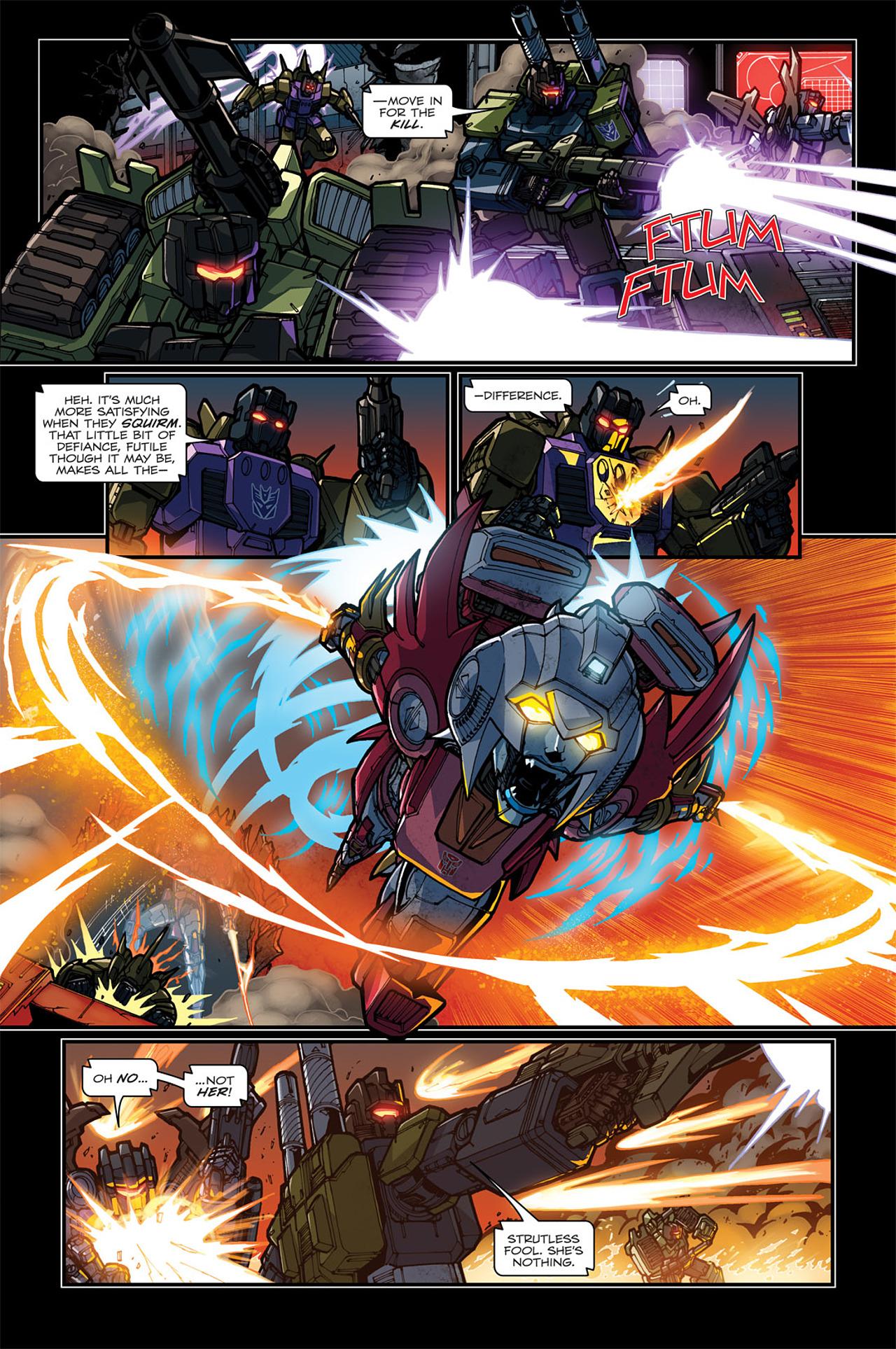 Read online Transformers: Spotlight - Arcee comic -  Issue # Full - 21