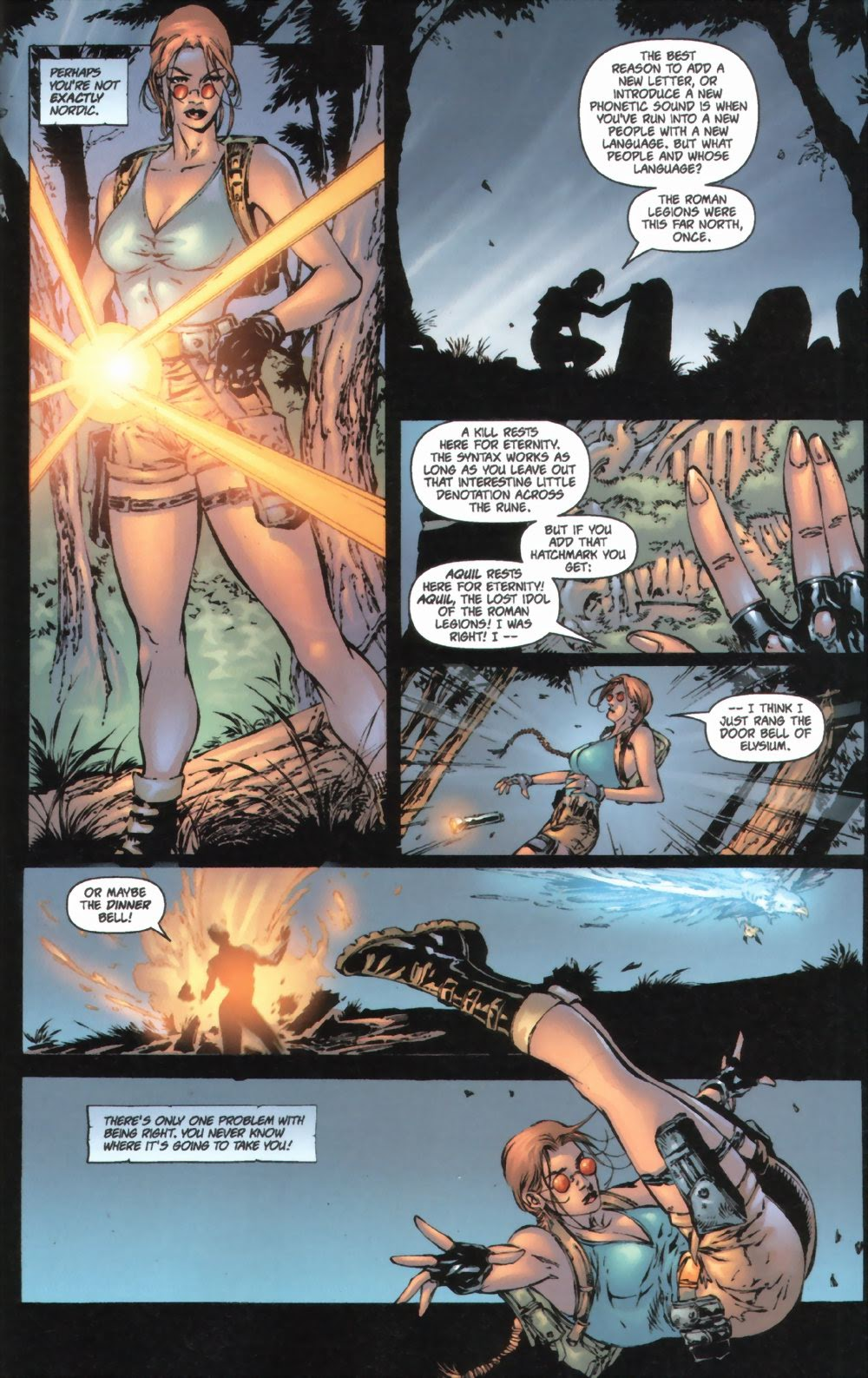 Read online Tomb Raider: The Series comic -  Issue #0 - 8