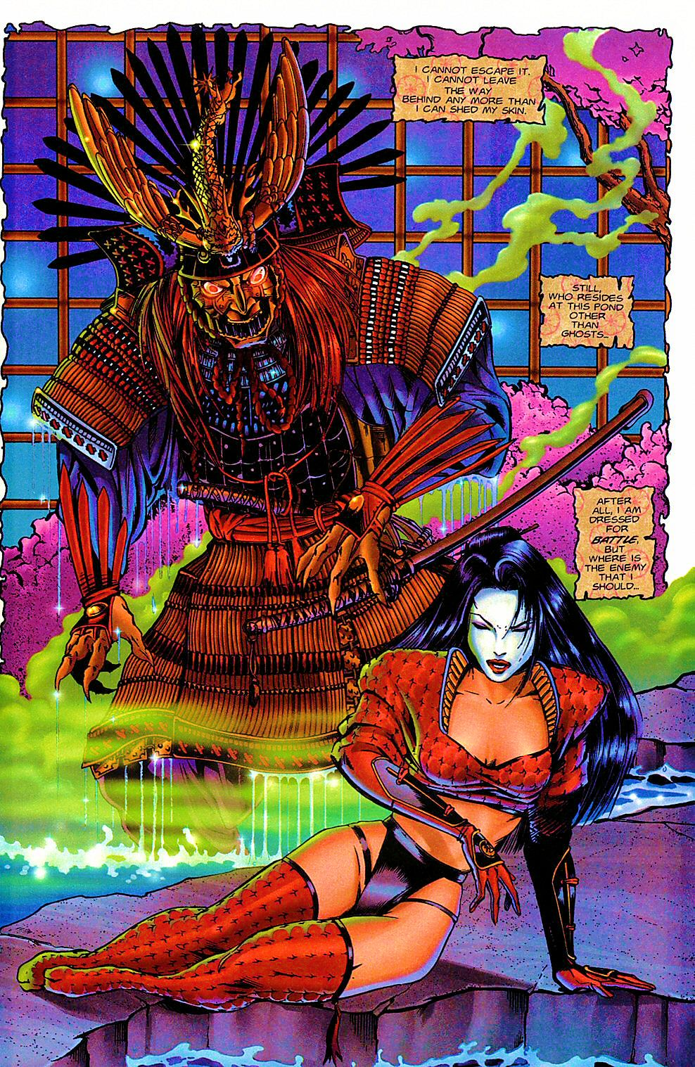 Read online Shi: The Way of the Warrior comic -  Issue #5 - 15