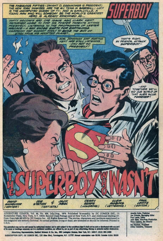 Read online Adventure Comics (1938) comic -  Issue #458 - 2