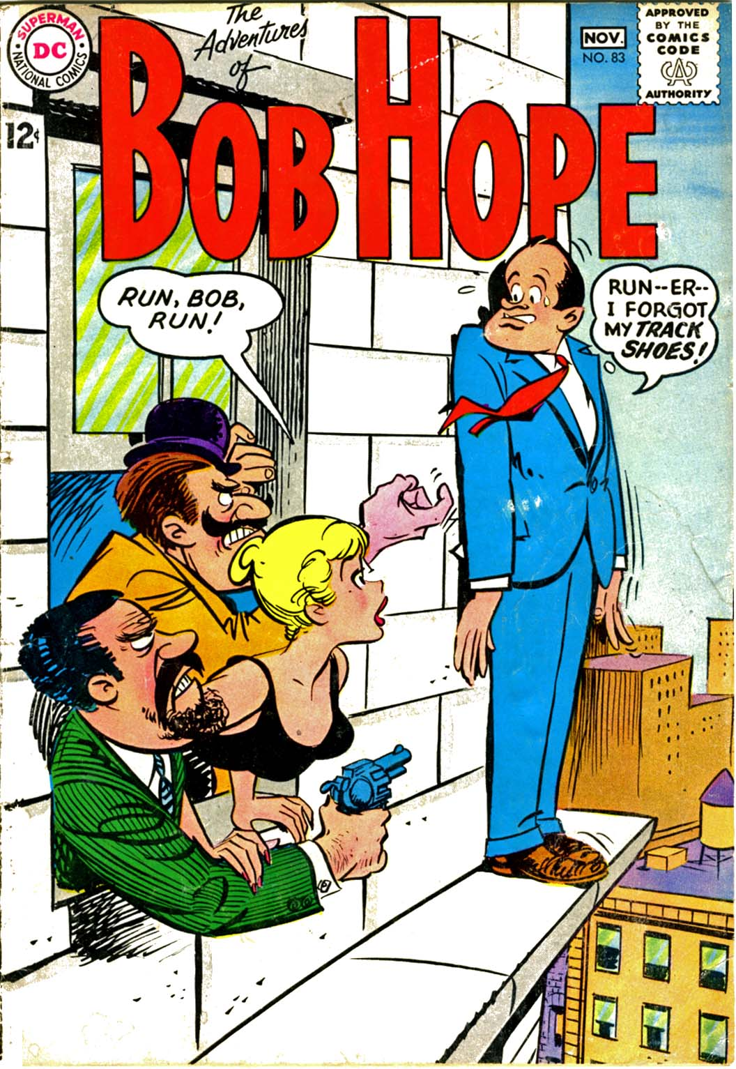 The Adventures of Bob Hope issue 83 - Page 1