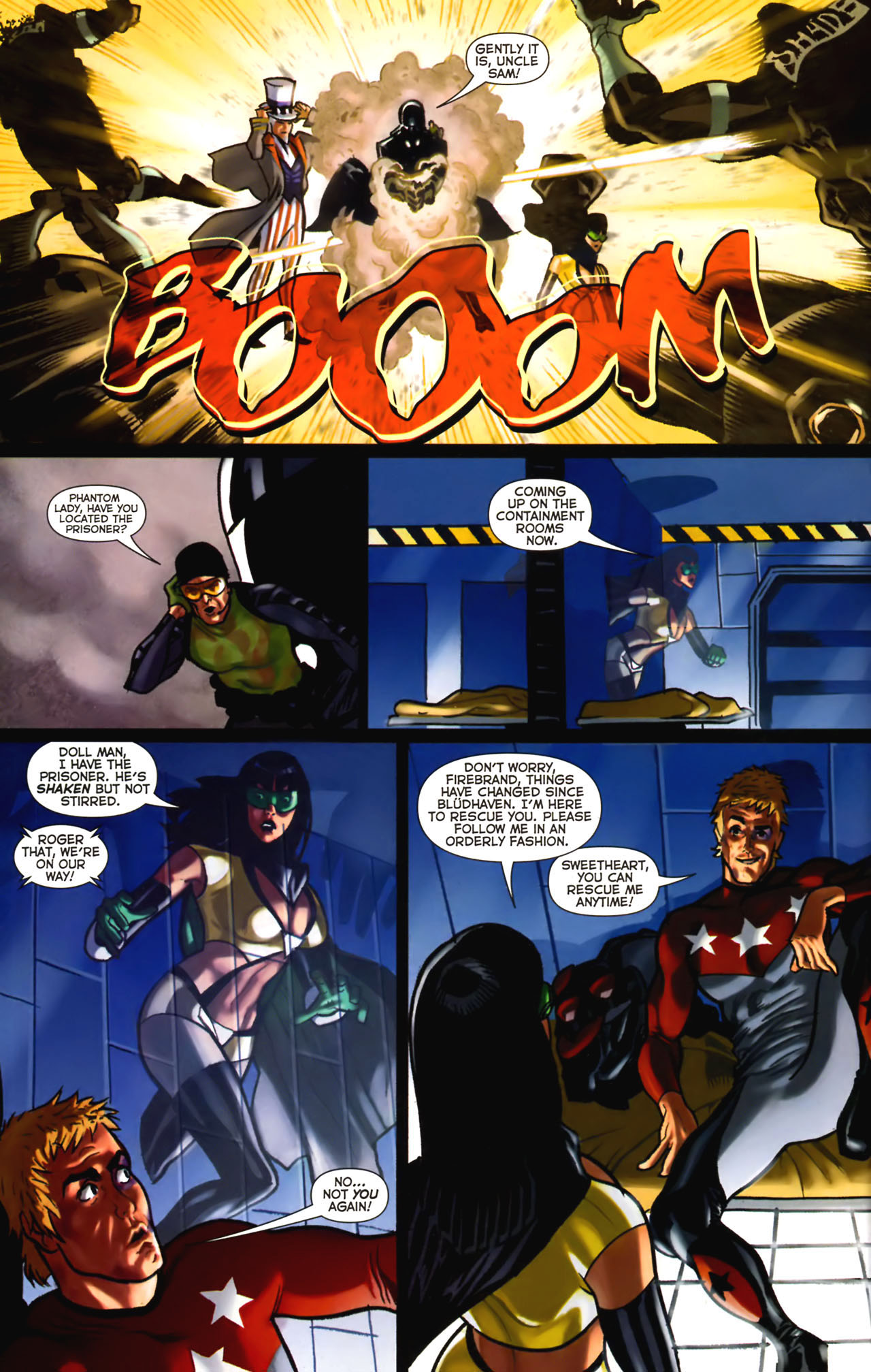 Read online Uncle Sam and the Freedom Fighters (2006) comic -  Issue #2 - 15