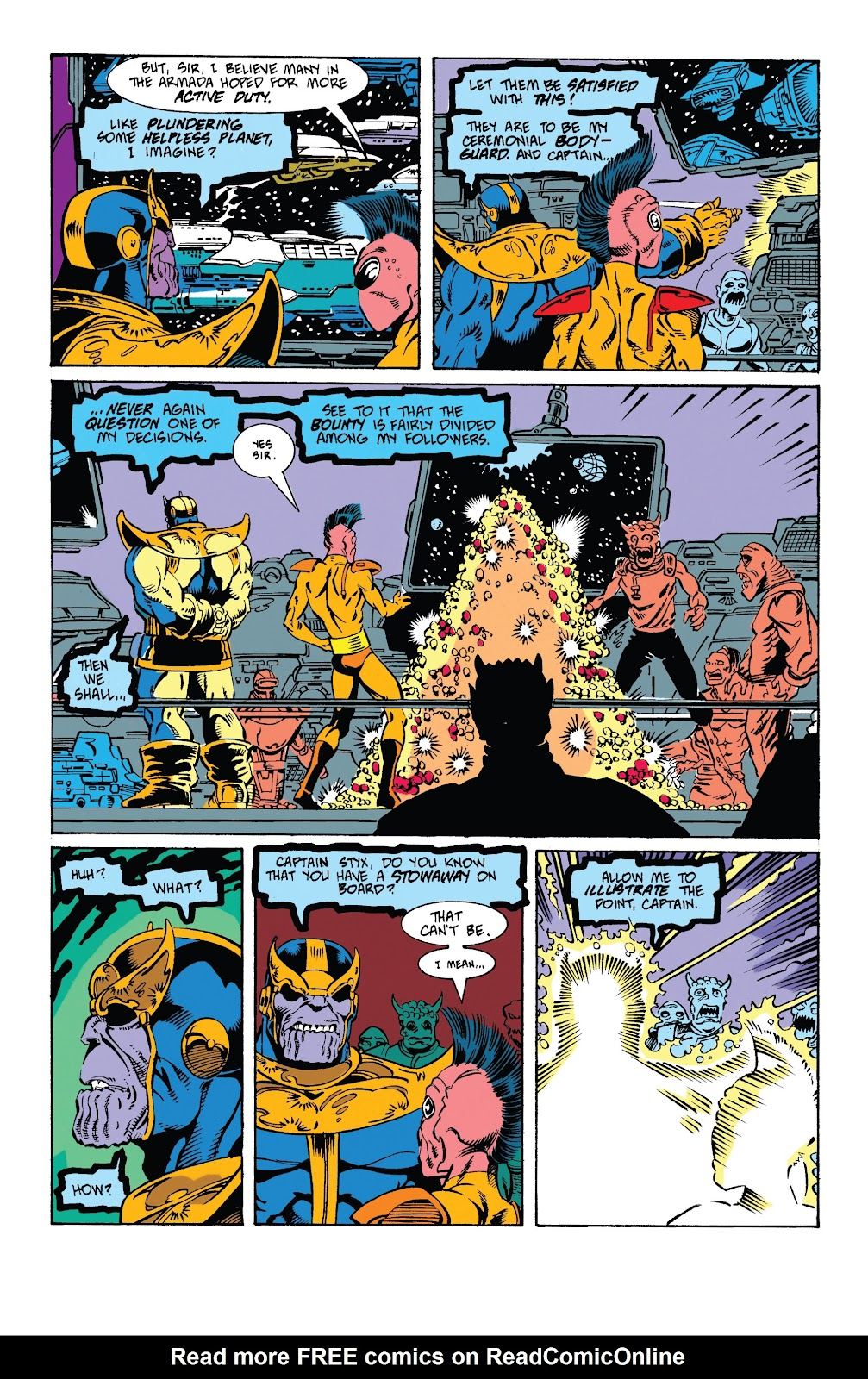 Read online Marvel Tales: Thanos comic -  Issue # Full - 30