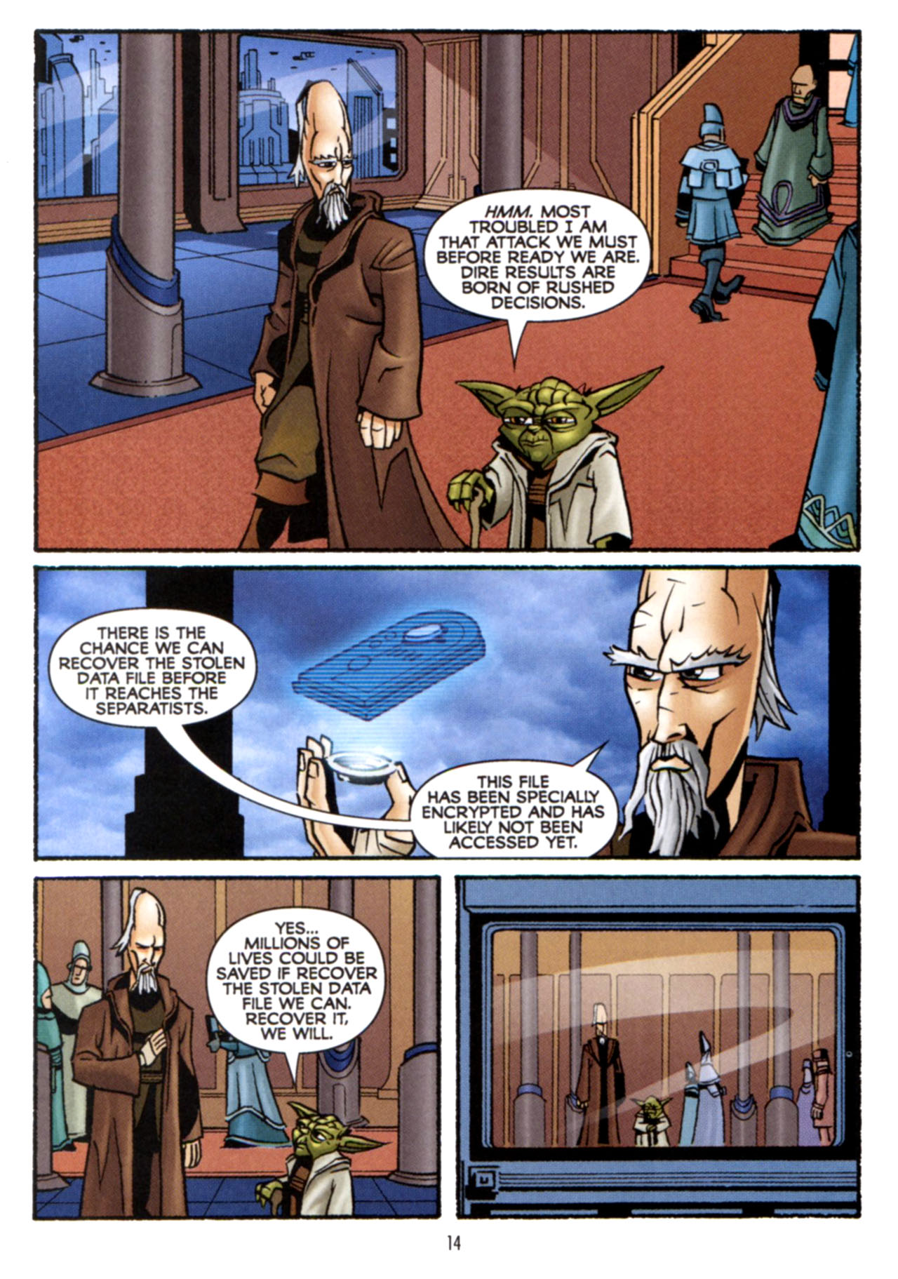 Read online Star Wars: The Clone Wars - Crash Course comic -  Issue # Full - 15