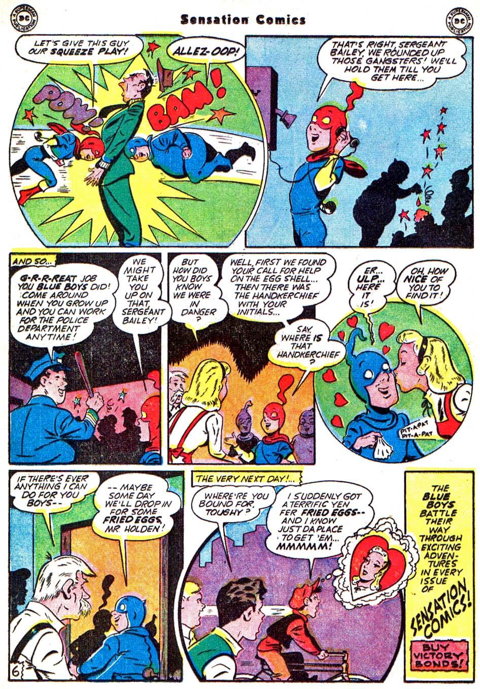 Read online Sensation (Mystery) Comics comic -  Issue #54 - 23