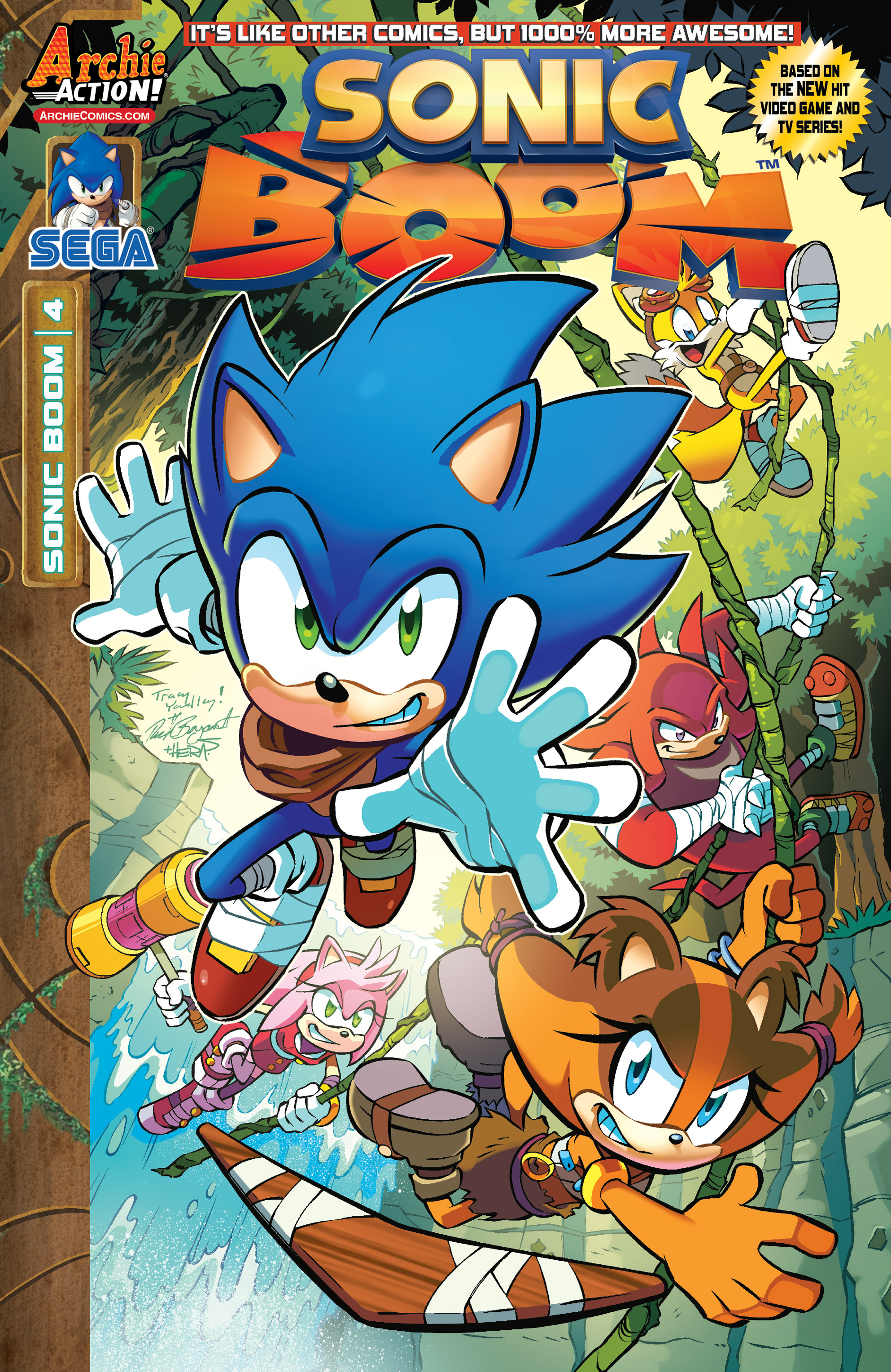 Read online Sonic Boom comic -  Issue #4 - 1