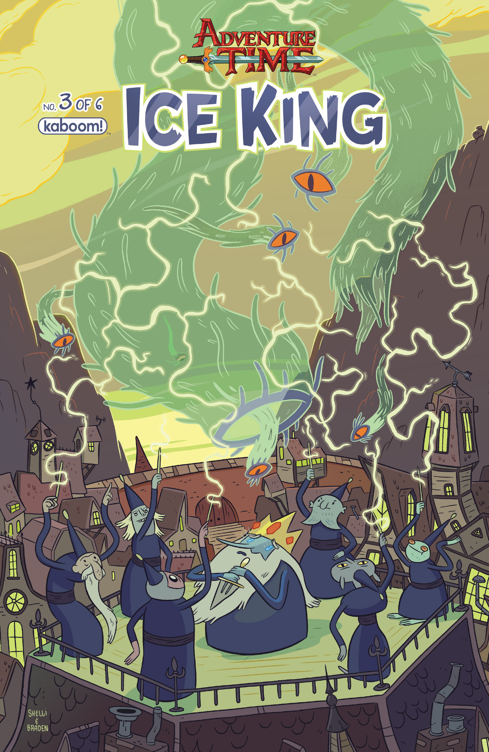 Adventure Time: Ice King 3 Page 1