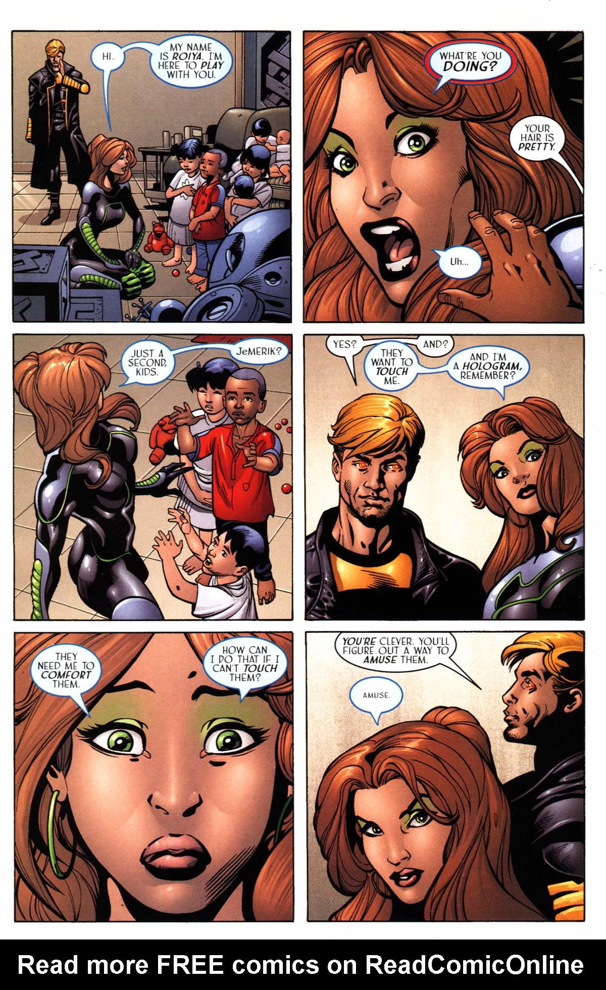 Read online Sigil (2000) comic -  Issue #24 - 20