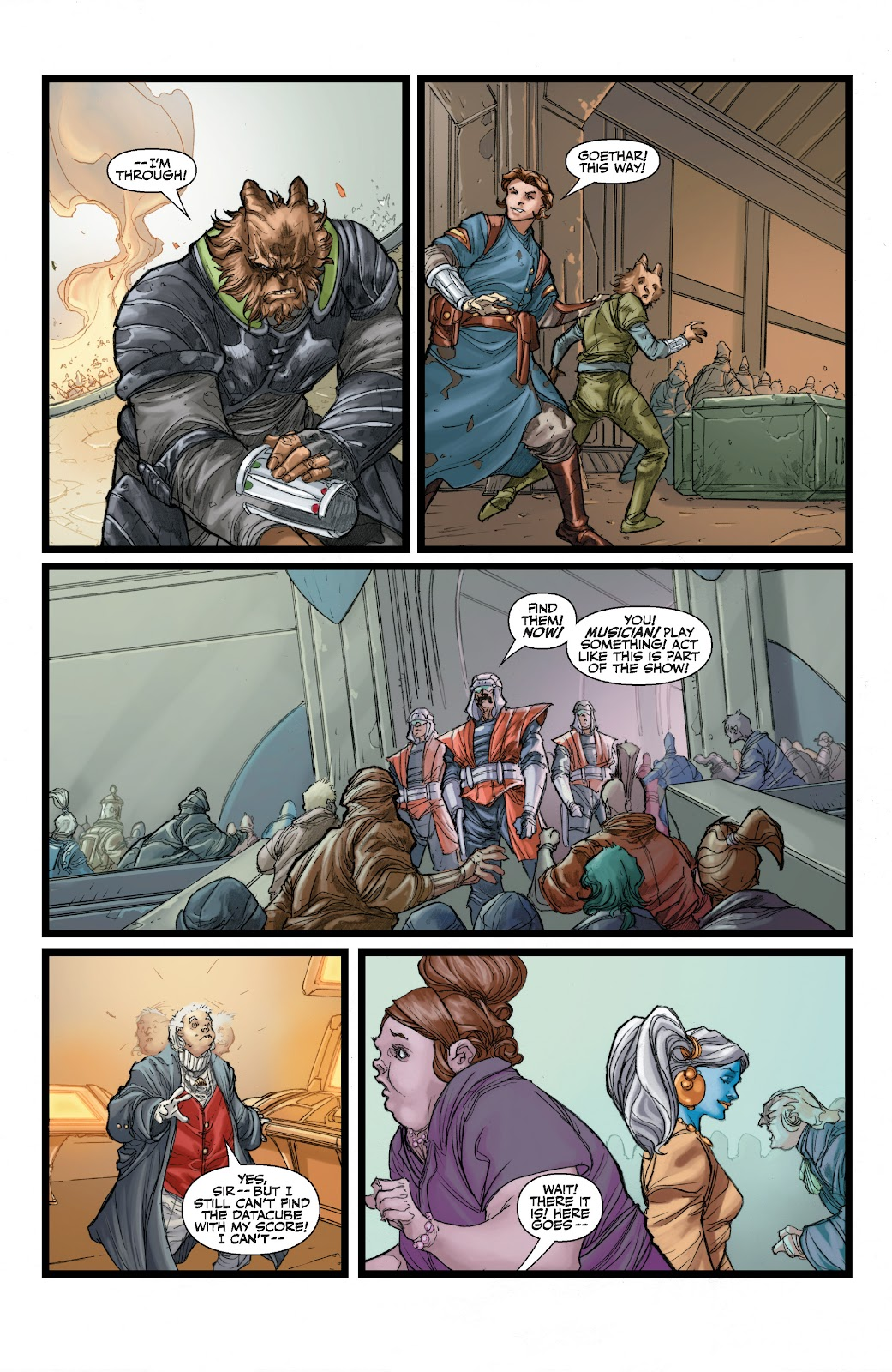 Read online Star Wars Legends: The Old Republic - Epic Collection comic -  Issue # TPB 3 (Part 1) - 89